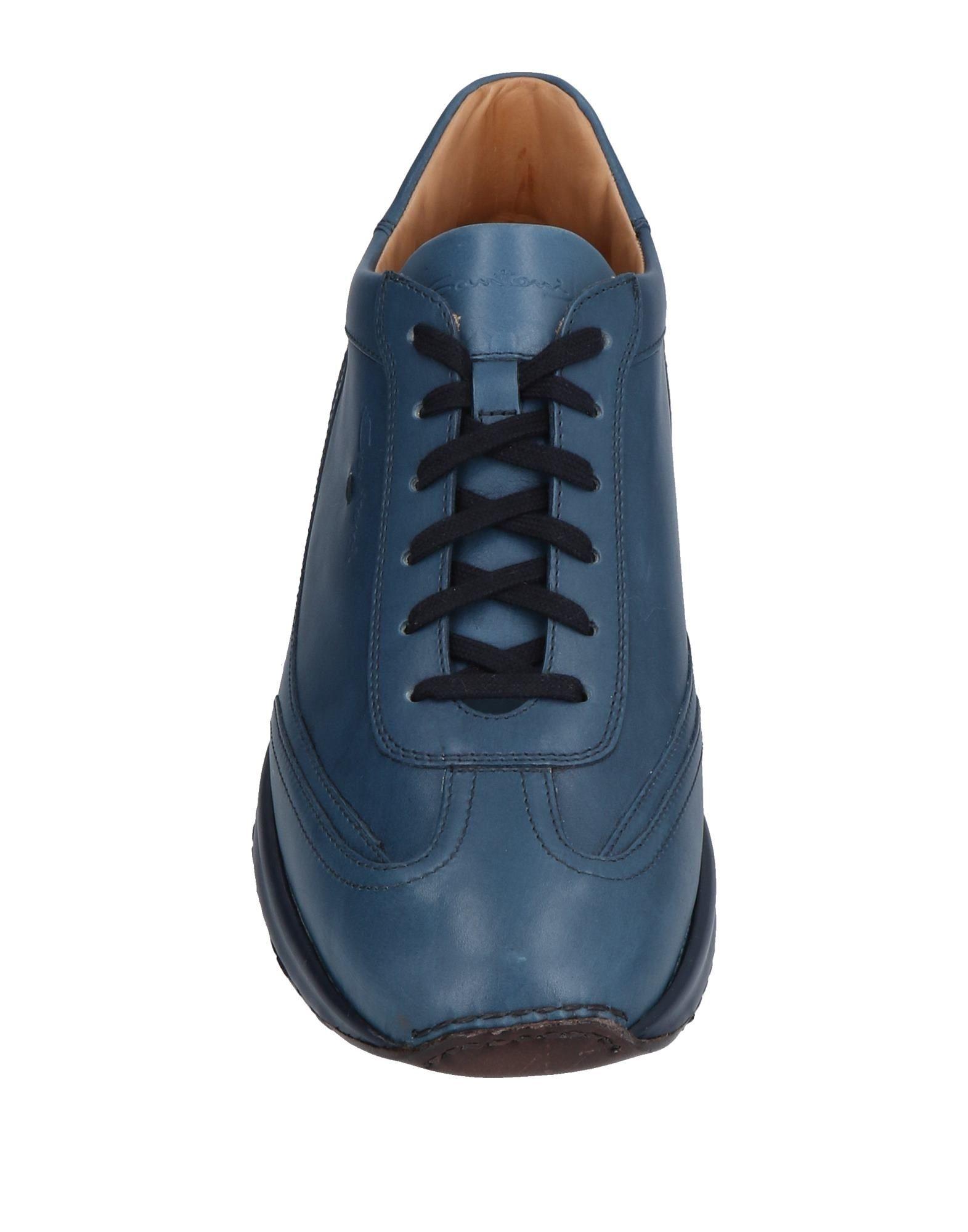 Santoni Sneakers Schuhe Herren  11478753QJ Heiße Schuhe Sneakers b15421