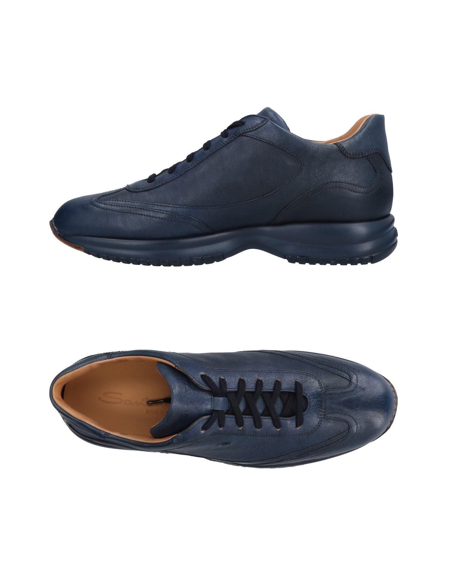 Haltbare Mode billige Schuhe Santoni Sneakers Herren  11478760BU Heiße Schuhe