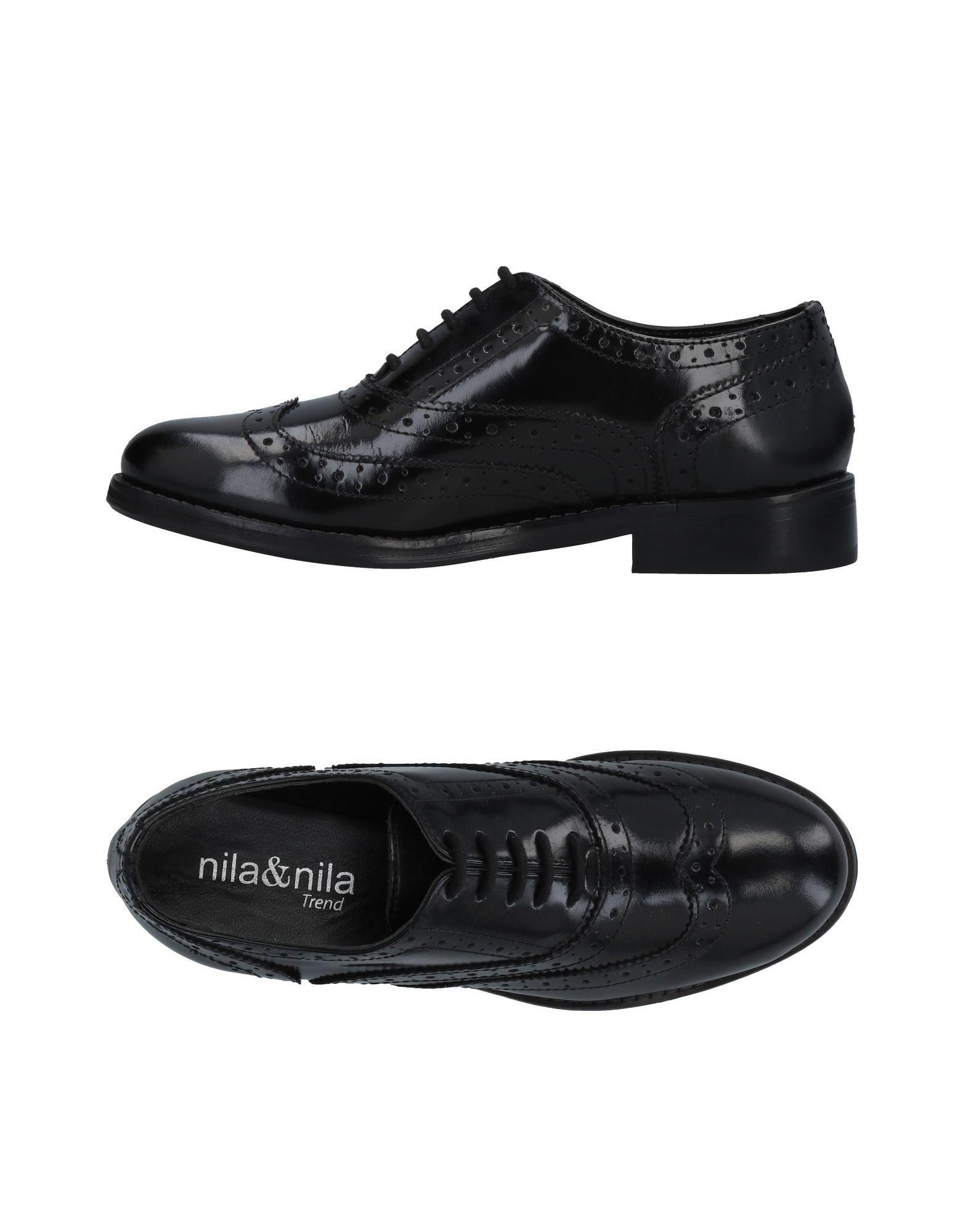 Nila  & Nila Schnürschuhe Damen  Nila 11478807VT Neue Schuhe e6e62a