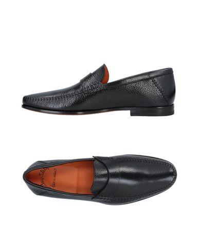 Los últimos zapatos de hombre y mujer - Mocasín Santoni Hombre - mujer Mocasines Santoni - 11478859BA Negro 50bd3d