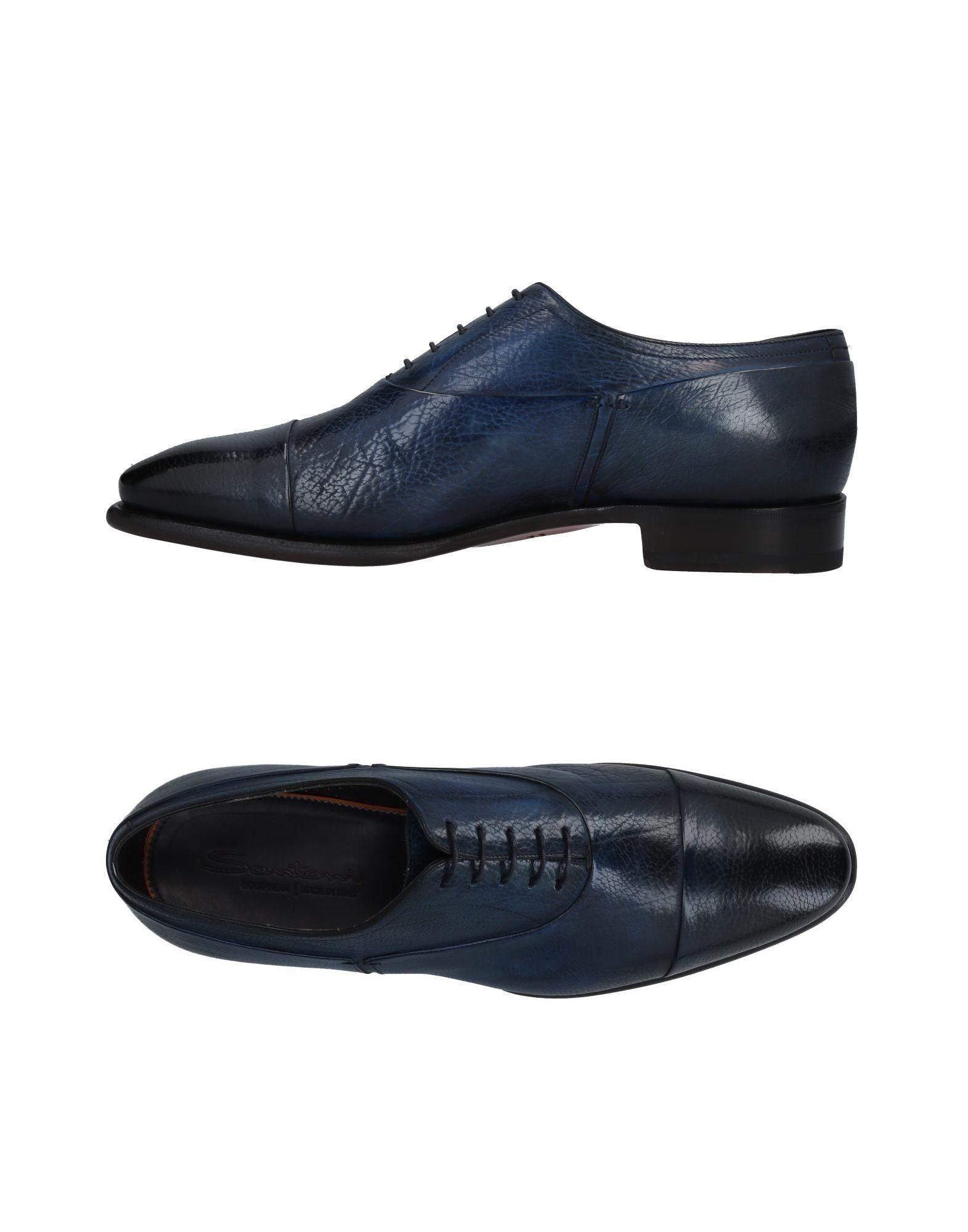 Santoni Schnürschuhe Herren  11479018TP Gute Qualität beliebte Schuhe
