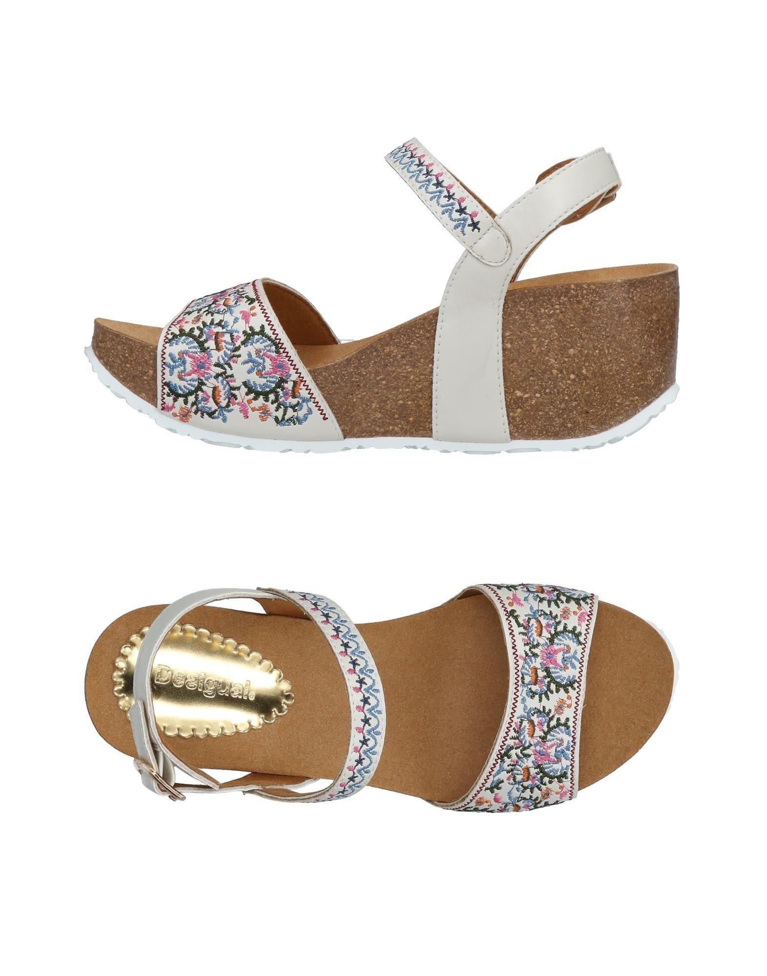 Haltbare Mode billige Schuhe Desigual Sandalen Damen  11479109UN Heiße Schuhe