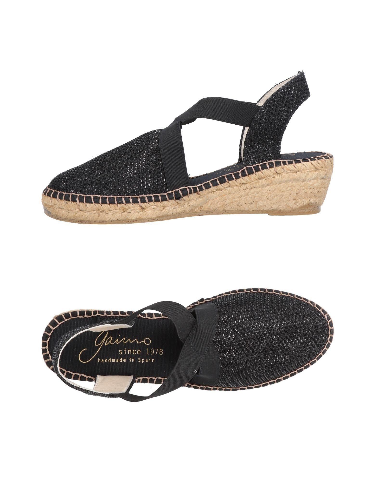 Günstige und modische Schuhe Gaimo Espadrilles Damen  11479271WM