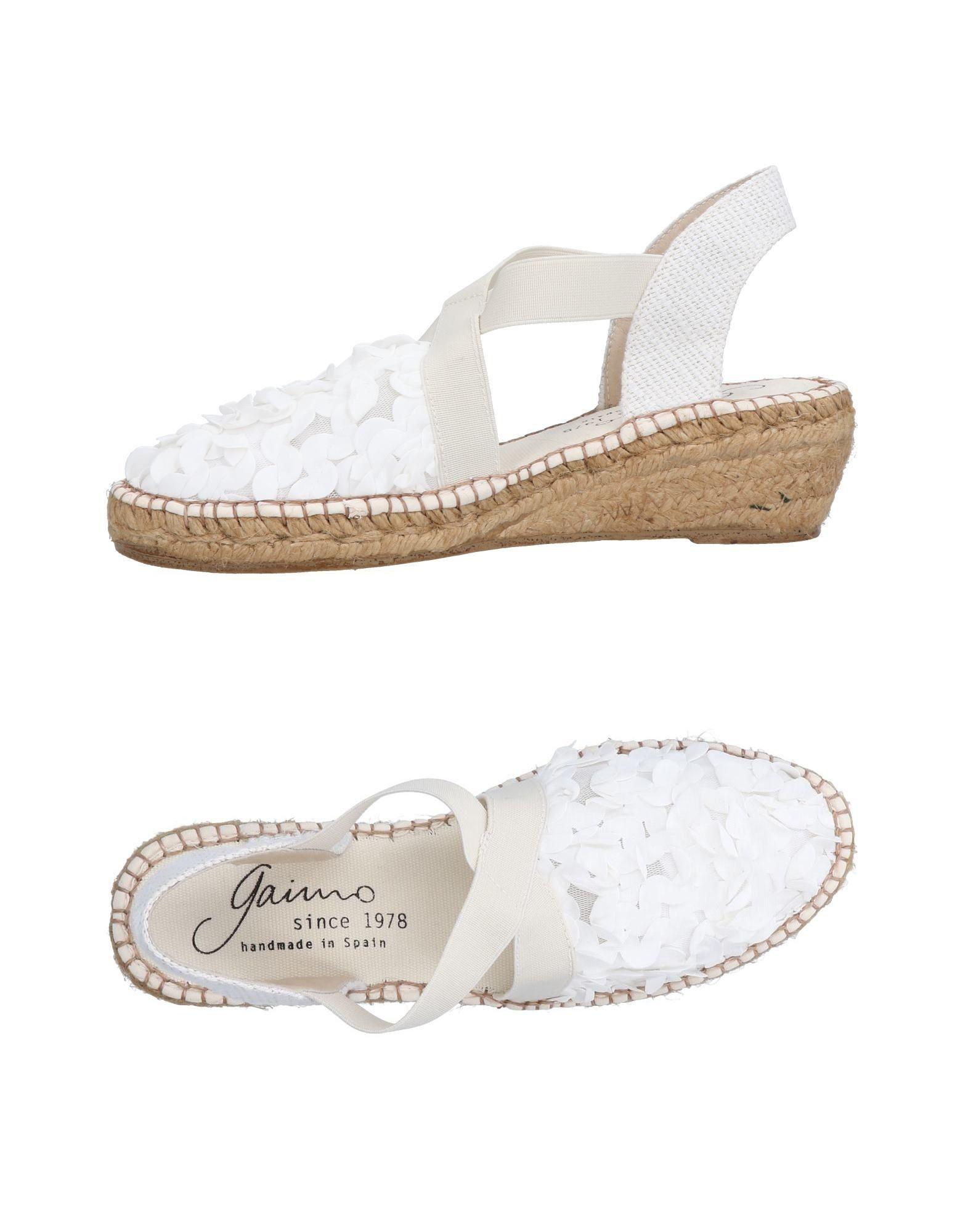 Gaimo Espadrilles Damen  11479293NJ Gute Qualität beliebte Schuhe