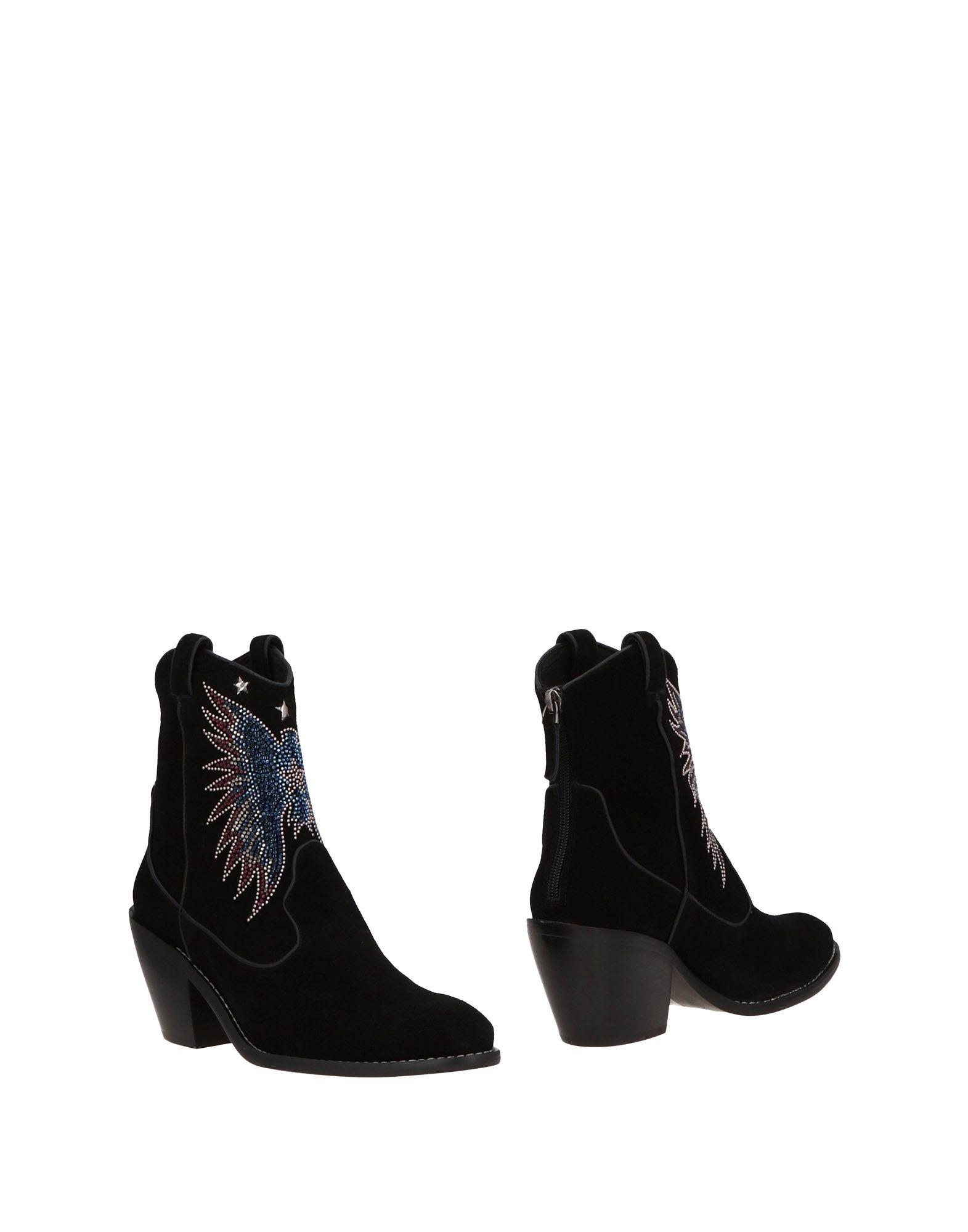 Bottine Lola Cruz Femme - Bottines Lola Cruz Noir Chaussures femme pas cher homme et femme