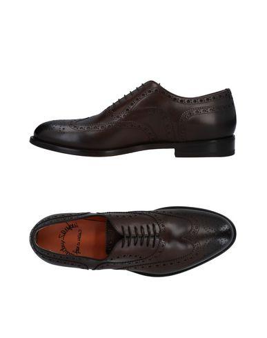 Zapatos cómodos y versátiles Zapato De Cordones Santoni Hombre - Zapatos De Cordones Santoni - 11479392VU Café