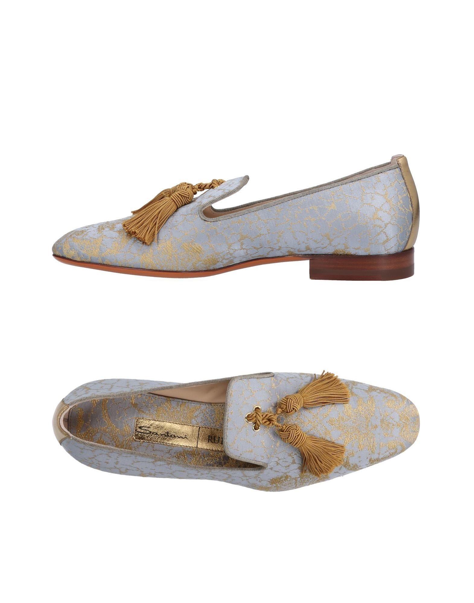 Haltbare Mode billige Schuhe Santoni Mokassins Damen  11479465RK Heiße Schuhe