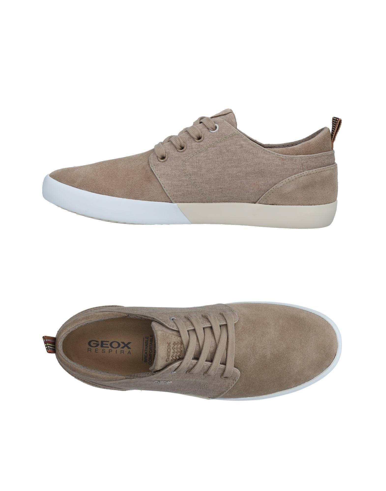 Sneakers Geox Homme - Sneakers Geox  Sable Meilleur modèle de vente