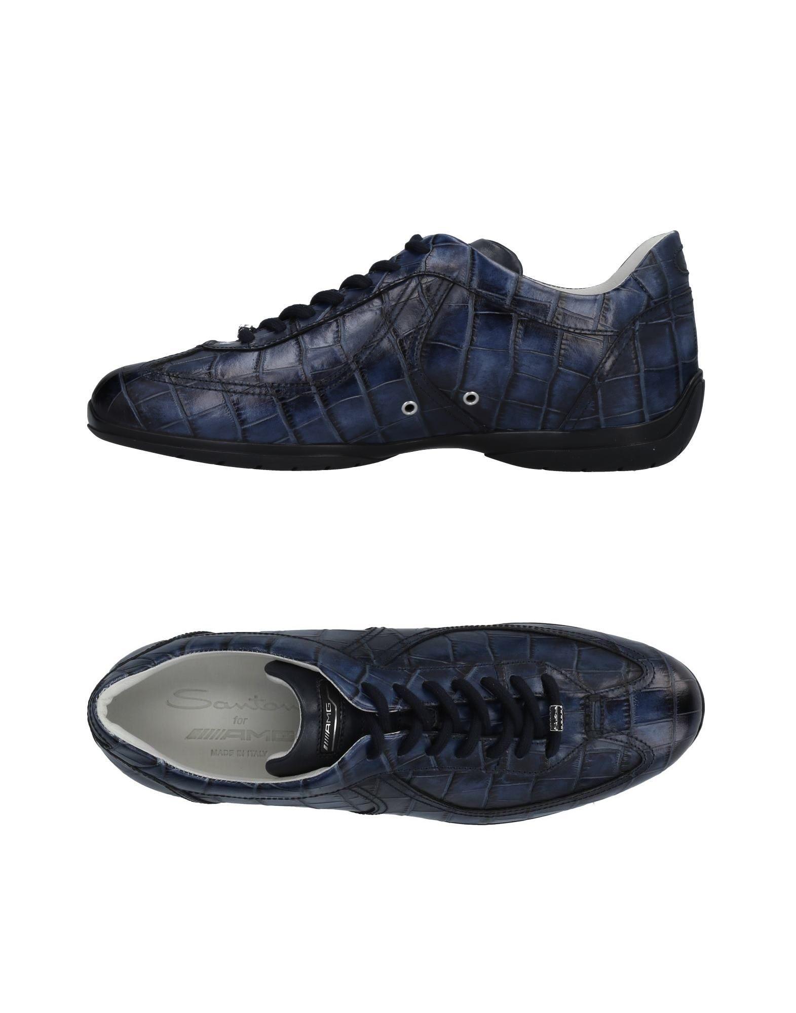 Haltbare Mode billige Schuhe Santoni Sneakers Herren  11479552LS Heiße Schuhe