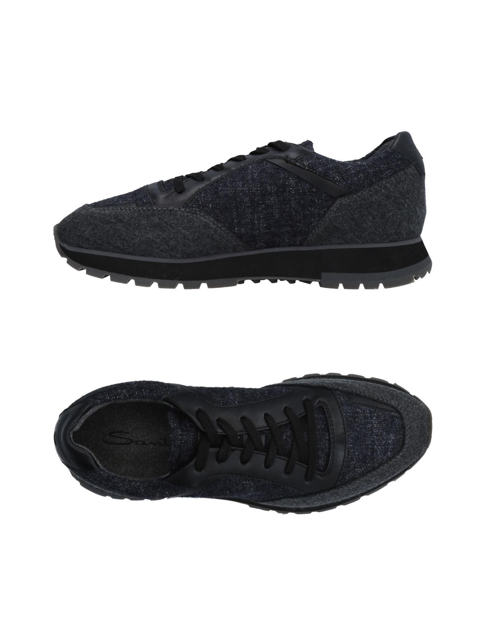 Haltbare Mode billige Schuhe Santoni Sneakers Herren  11479560PM Heiße Schuhe