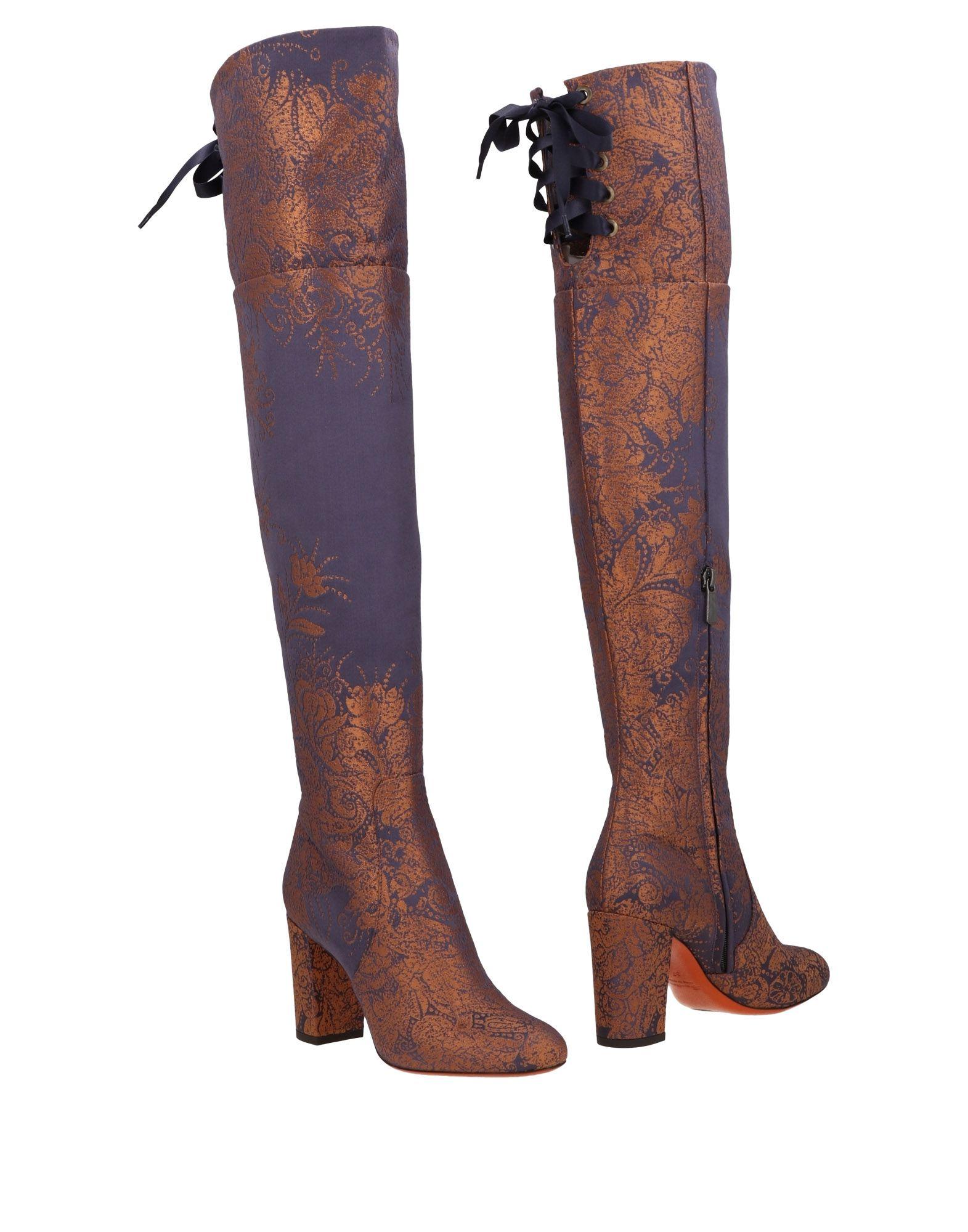 Scarpe economiche e resistenti Moda Stivali Santoni Donna