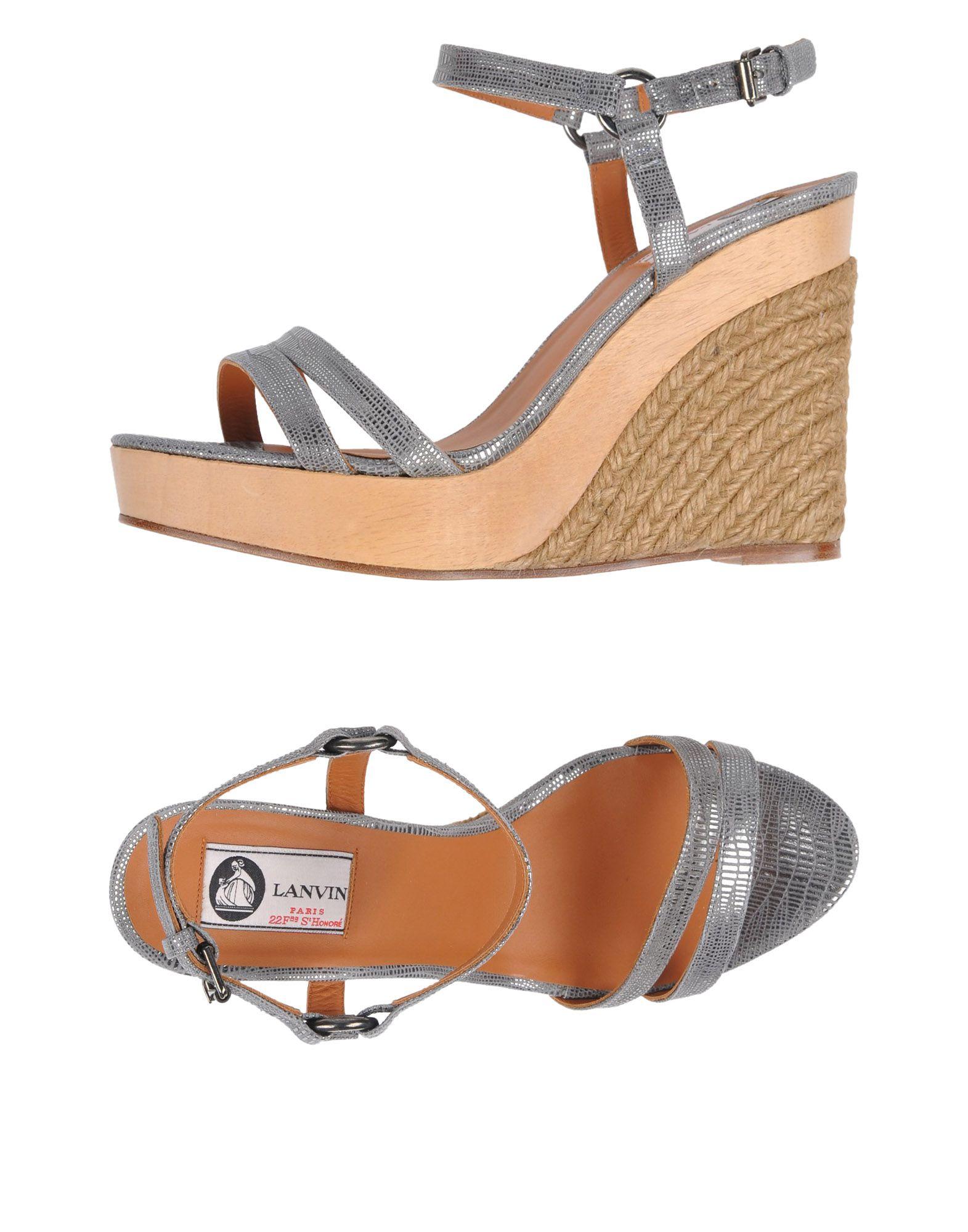 Lanvin Sandals - on Women Lanvin Sandals online on -  Canada - 11479585UC ed4fa7
