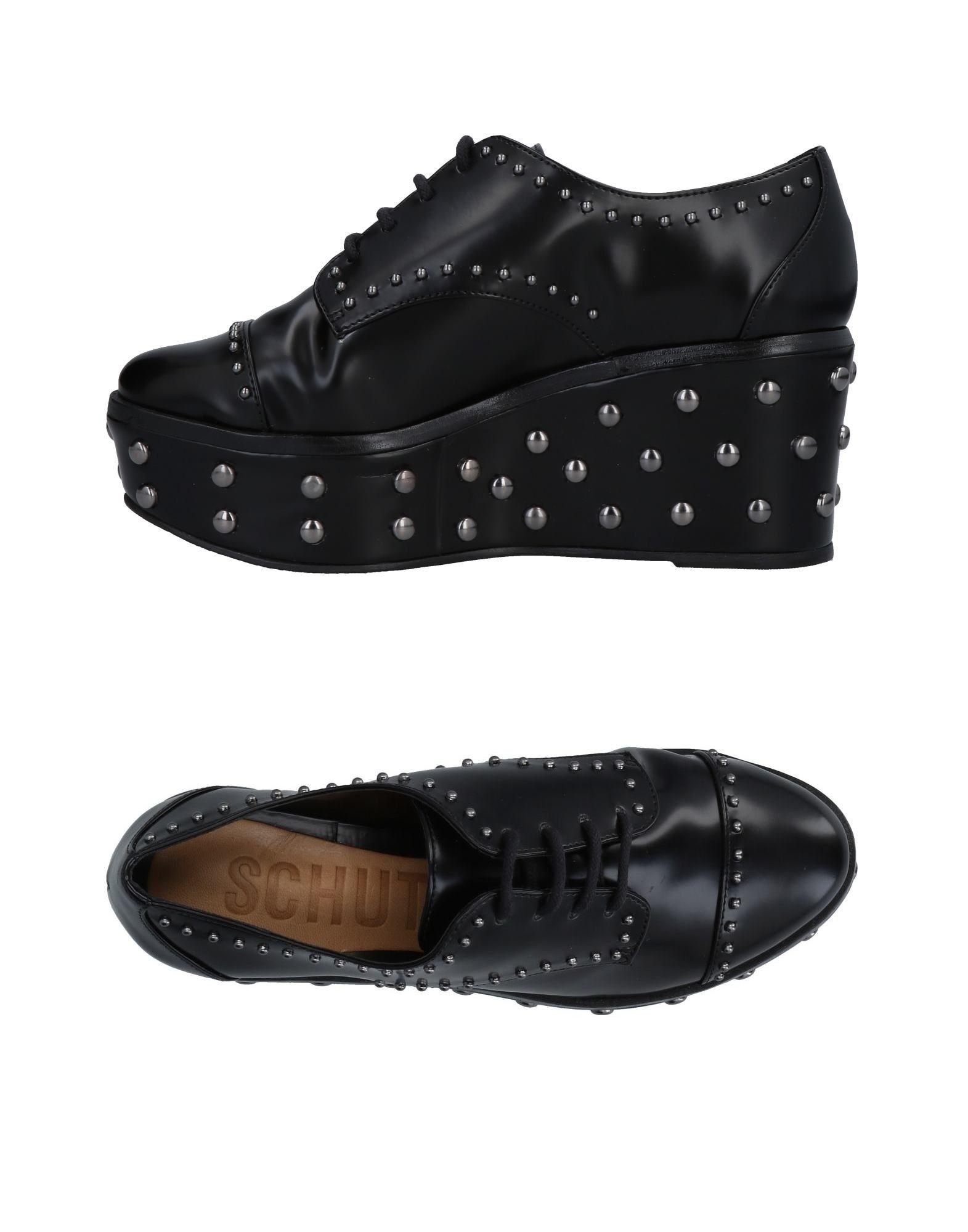 Negro Zapato De Cordones Schutz Mujer - - - Zapatos De Cordones Schutz Nuevos zapatos para  hombres  y mujeres, descuento por tiempo limitado 3e0d41