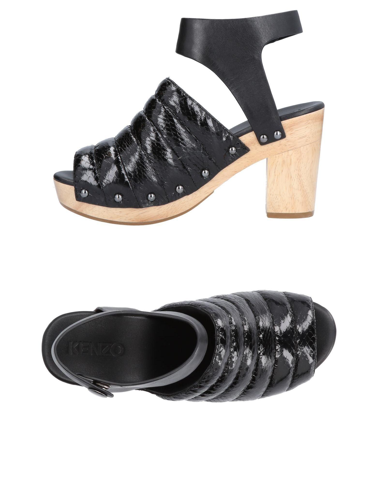 Rabatt Schuhe Kenzo Pantoletten Damen  11479976KS