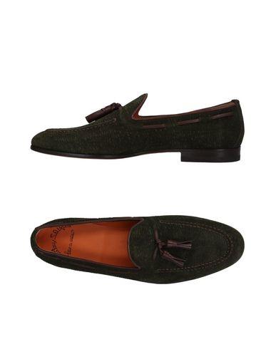 Los últimos zapatos de hombre y mujer Mocasín Santoni Hombre - Mocasines Santoni - 11480084WS Verde oscuro