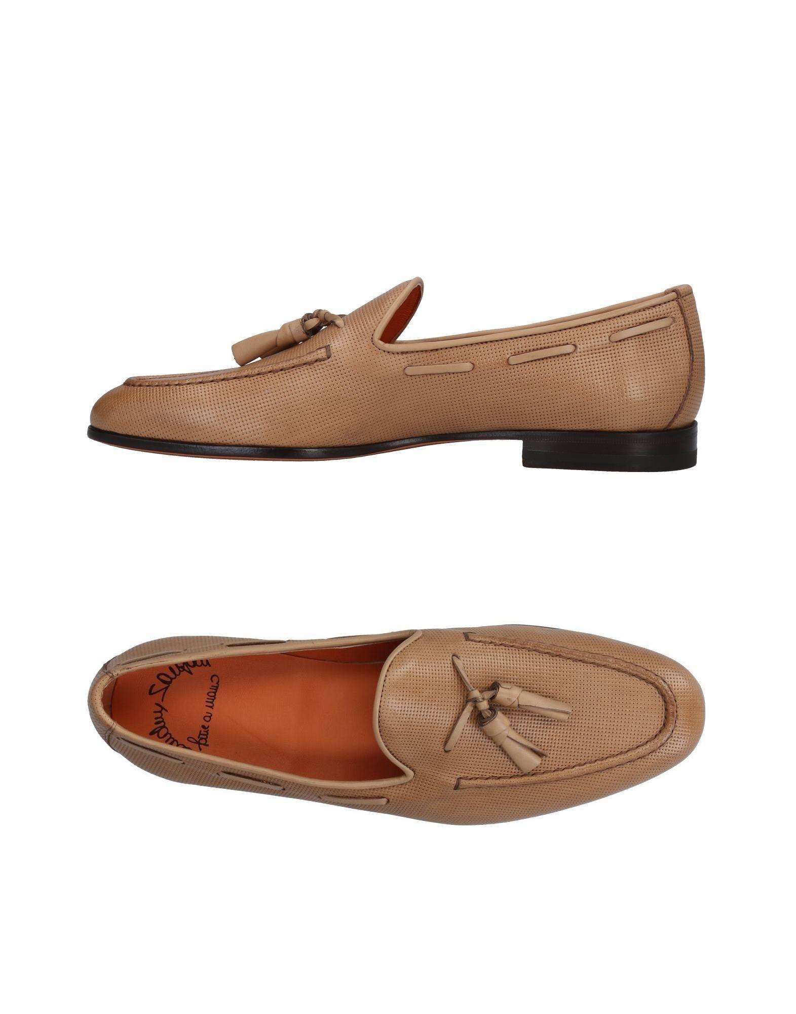 Santoni Mokassins Herren  11480086FL Gute Qualität beliebte Schuhe