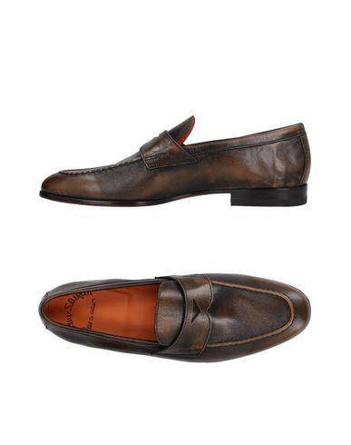 Zapatos con descuento Mocasines Mocasín Santoni Hombre - Mocasines descuento Santoni - 11480232IT Caqui 139743