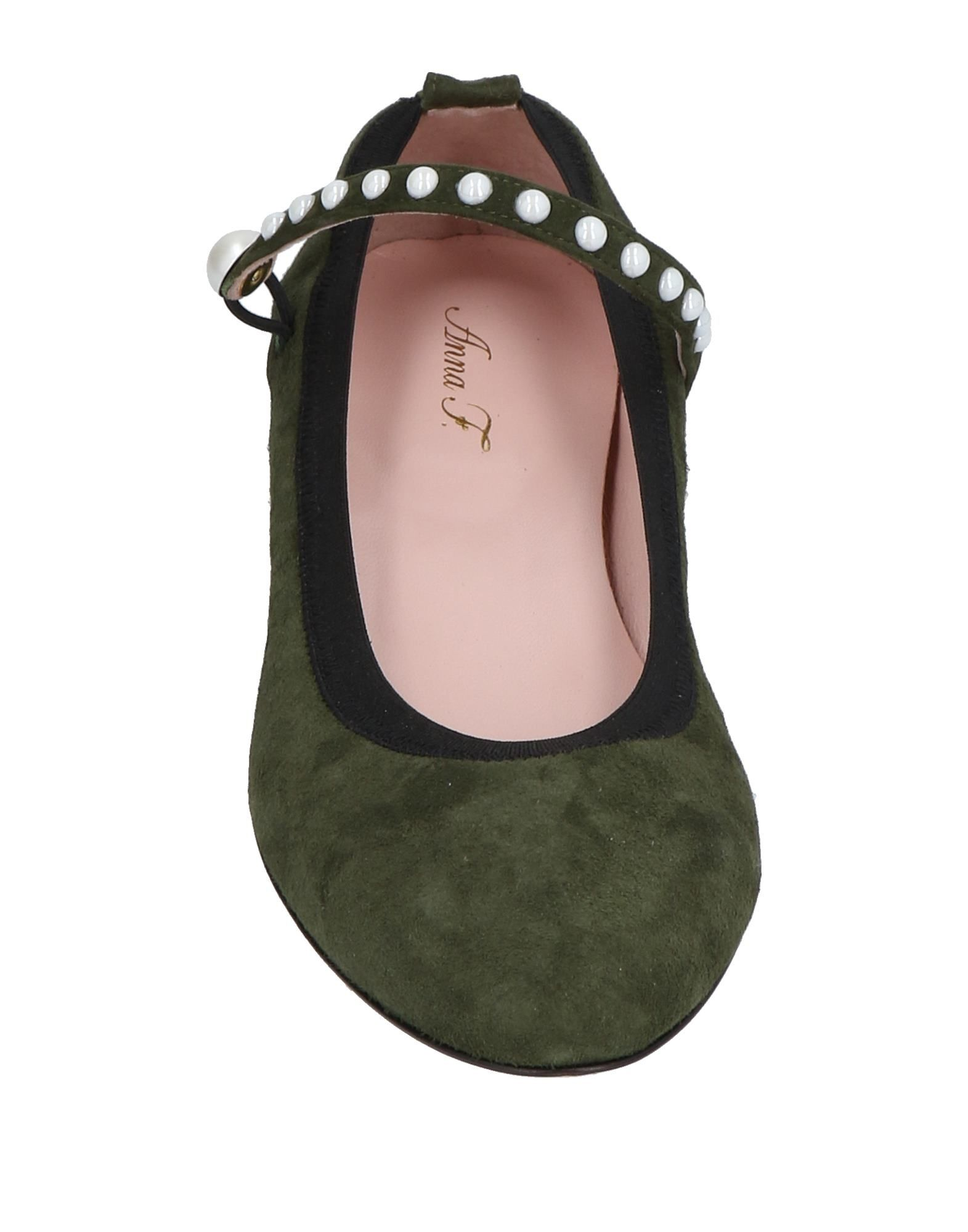 Anna F. Ballerinas Damen  Schuhe 11480244HP Gute Qualität beliebte Schuhe  f67cbf