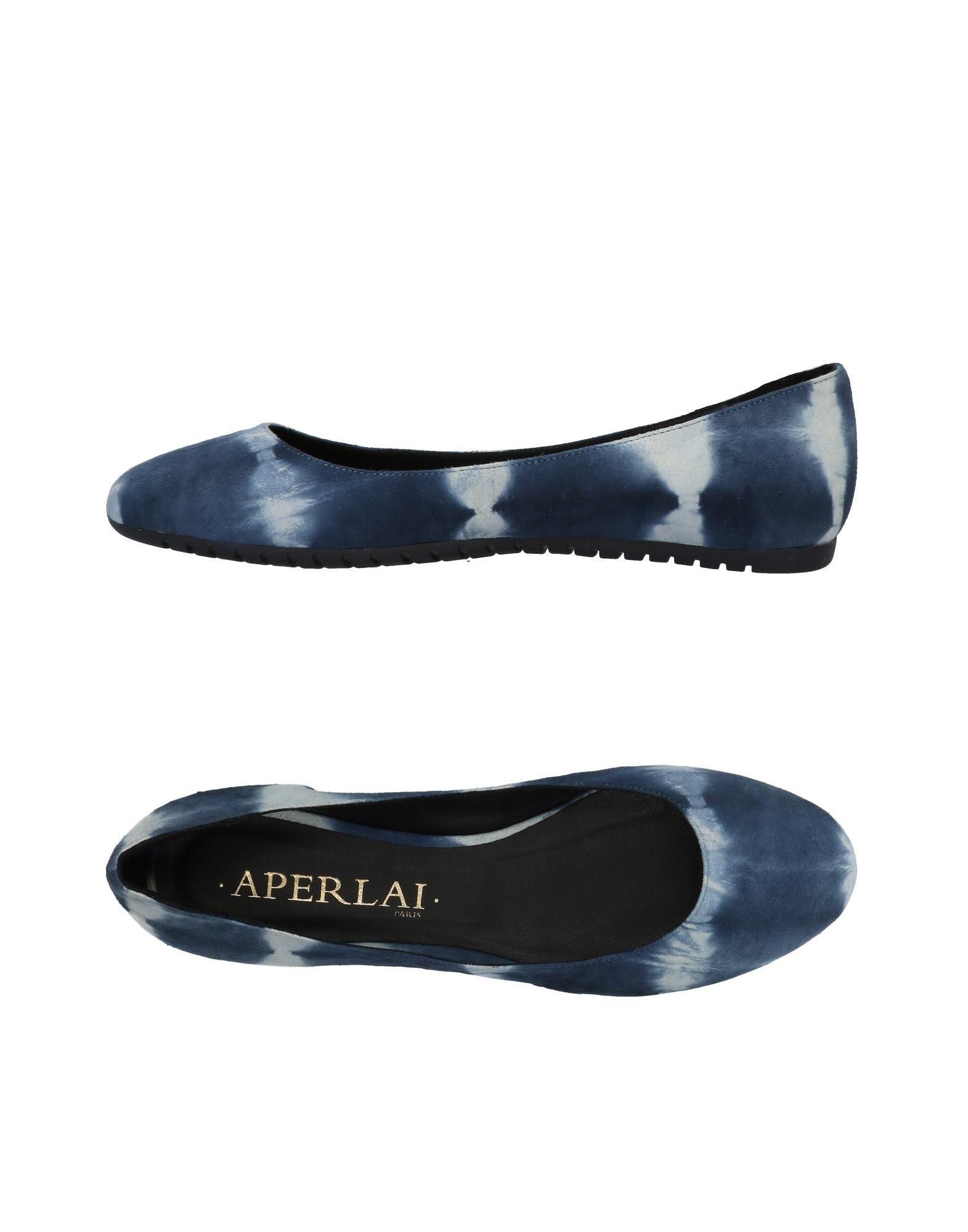 Haltbare Mode billige Schuhe Aperlai Ballerinas Damen  11480252RC Heiße Schuhe