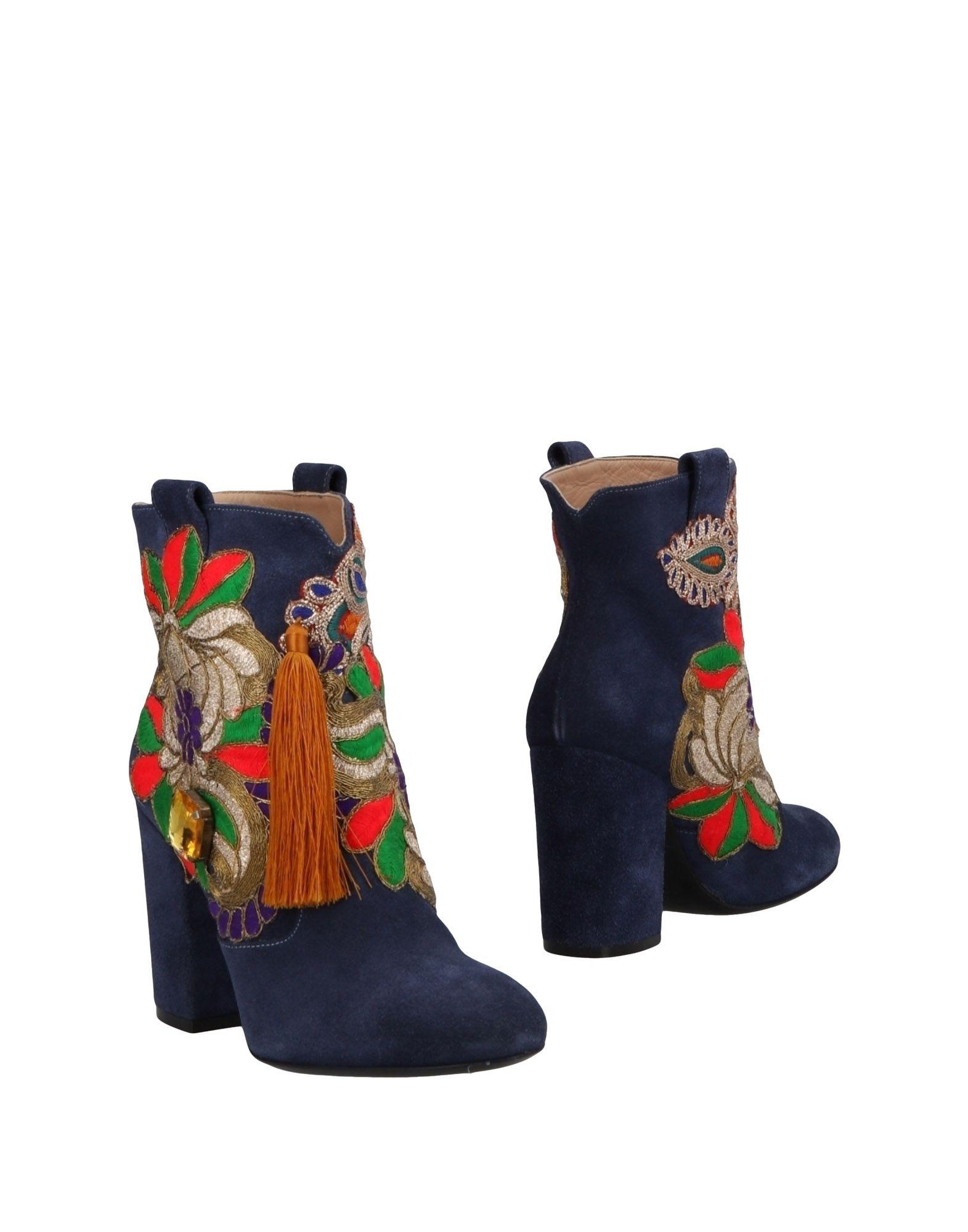 Rabatt Schuhe Elena Iachi Stiefelette Damen  11480380HQ