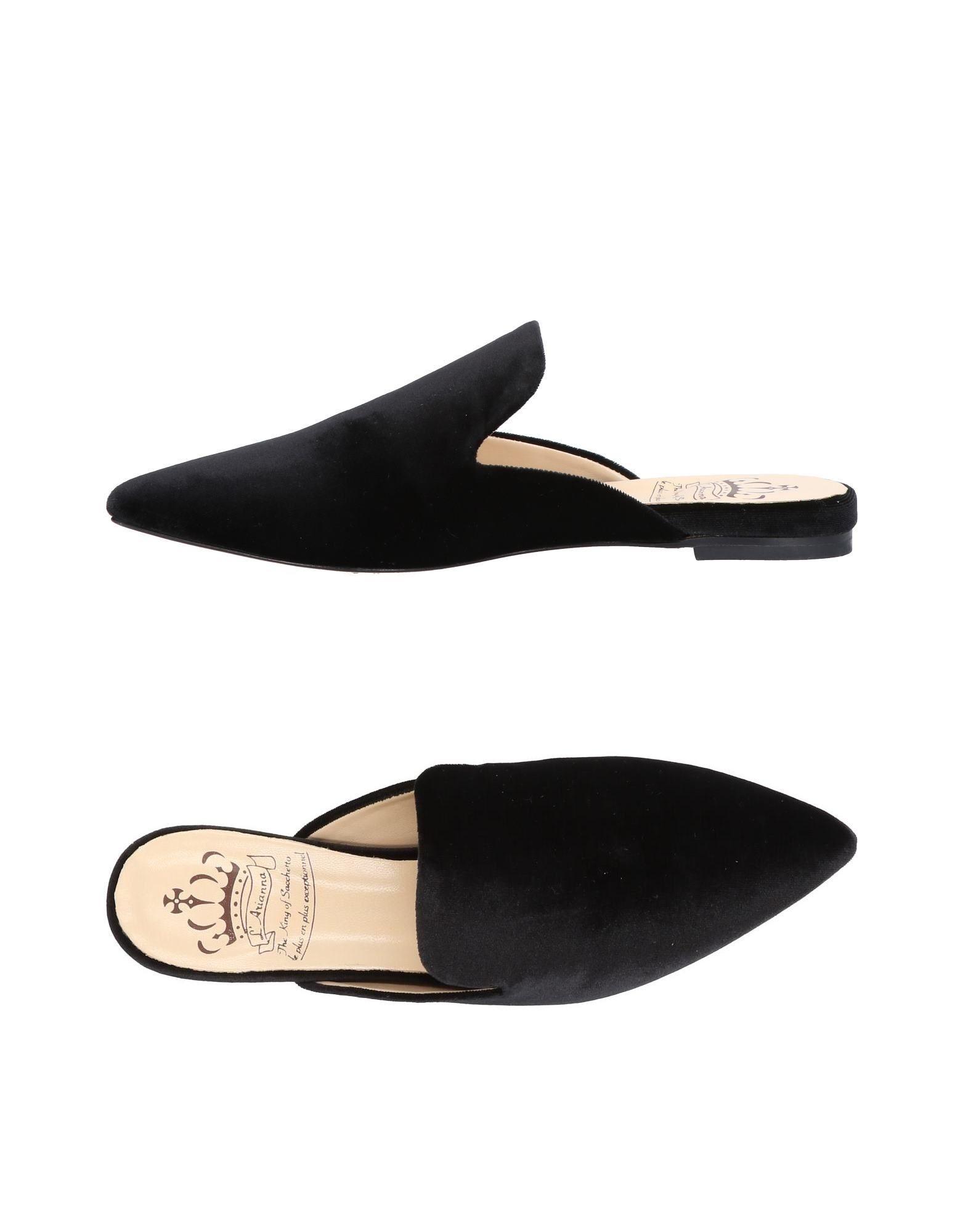 L'arianna Pantoletten Damen  11480424VI Gute Qualität beliebte Schuhe