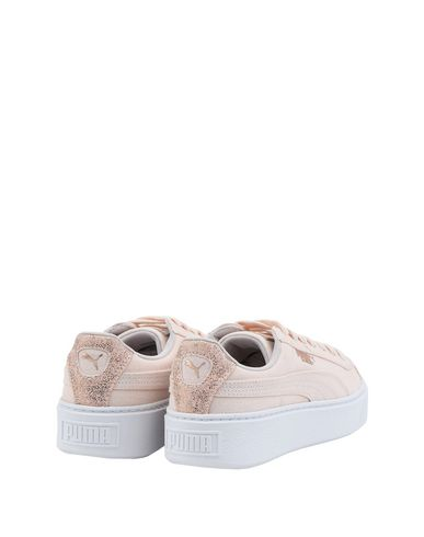 puma basket platform canvas
