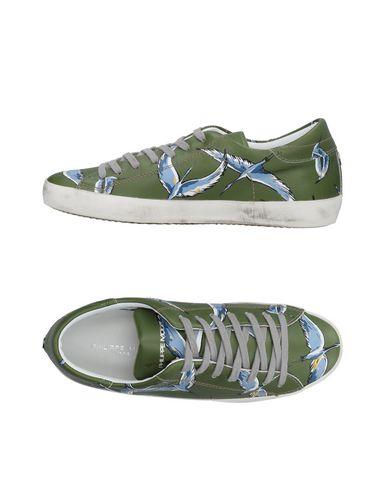 Moda barata y hermosa Zapatillas Zapatillas Zapatillas Philippe Model Hombre - Zapatillas Philippe Model Verde militar e4ca47