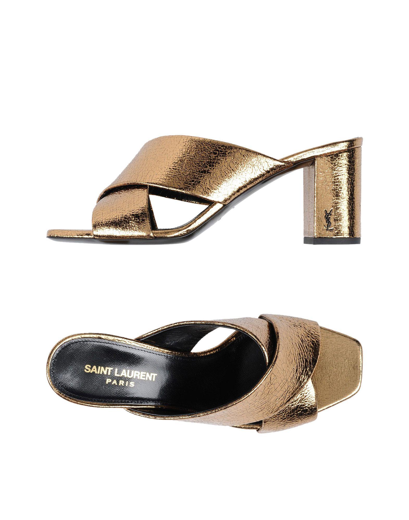 Saint Laurent Sandals Sandals - Women Saint Laurent Sandals Sandals online on  Canada - 11480908OG 31a2f2
