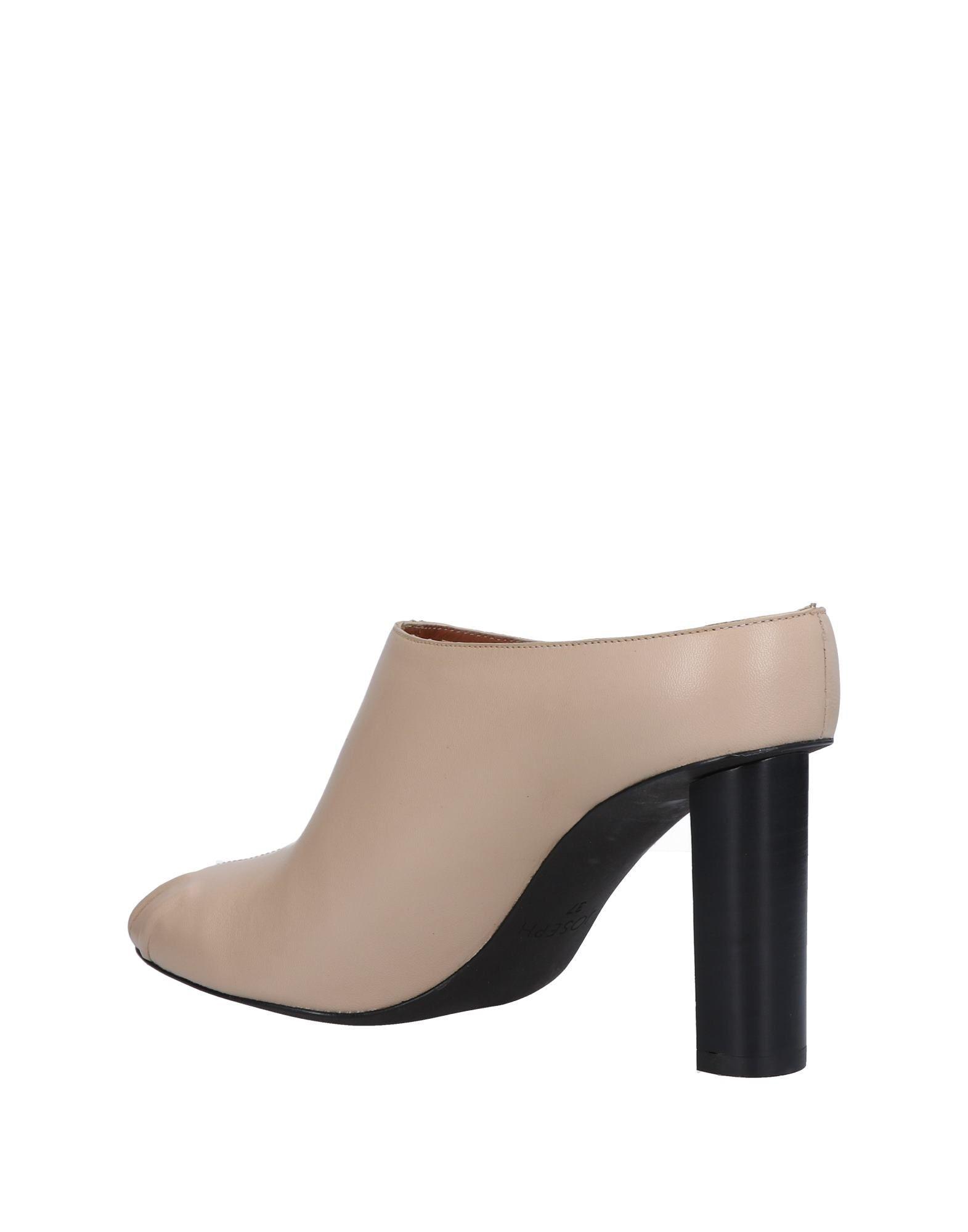 Stilvolle billige Pantoletten Schuhe Joseph Pantoletten billige Damen  11481017DP 159992