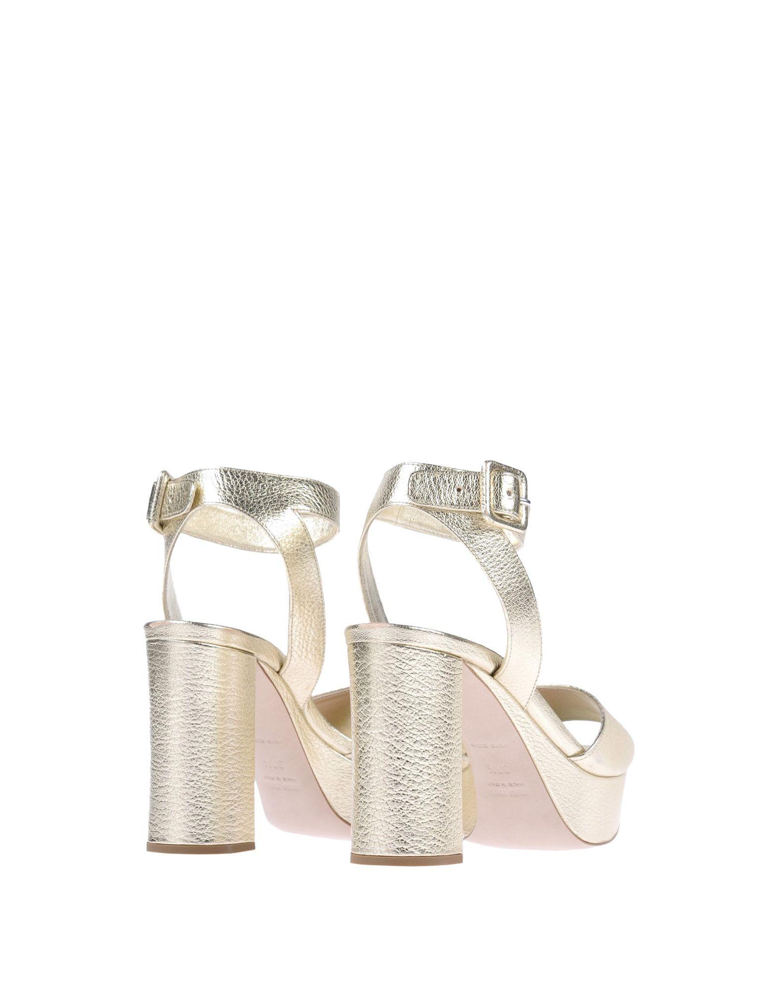 Miu Miu Sandalen Damen  Schuhe 11481043WO Beliebte Schuhe  c532a3