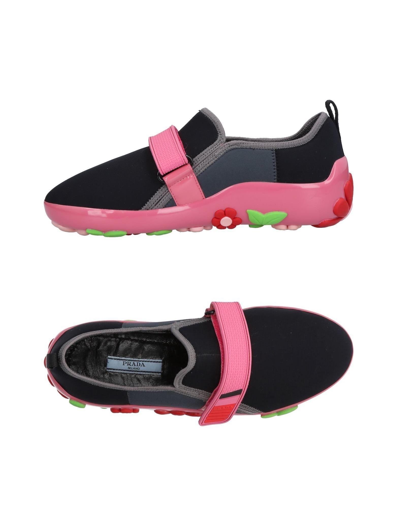 Zapatillas Prada Prada Mujer - Zapatillas Prada Zapatillas  Negro 0f3669