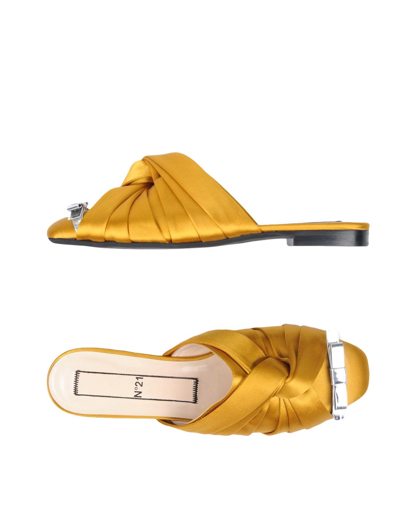 Rabatt Schuhe N° 21 Sandalen Damen  11481369WN