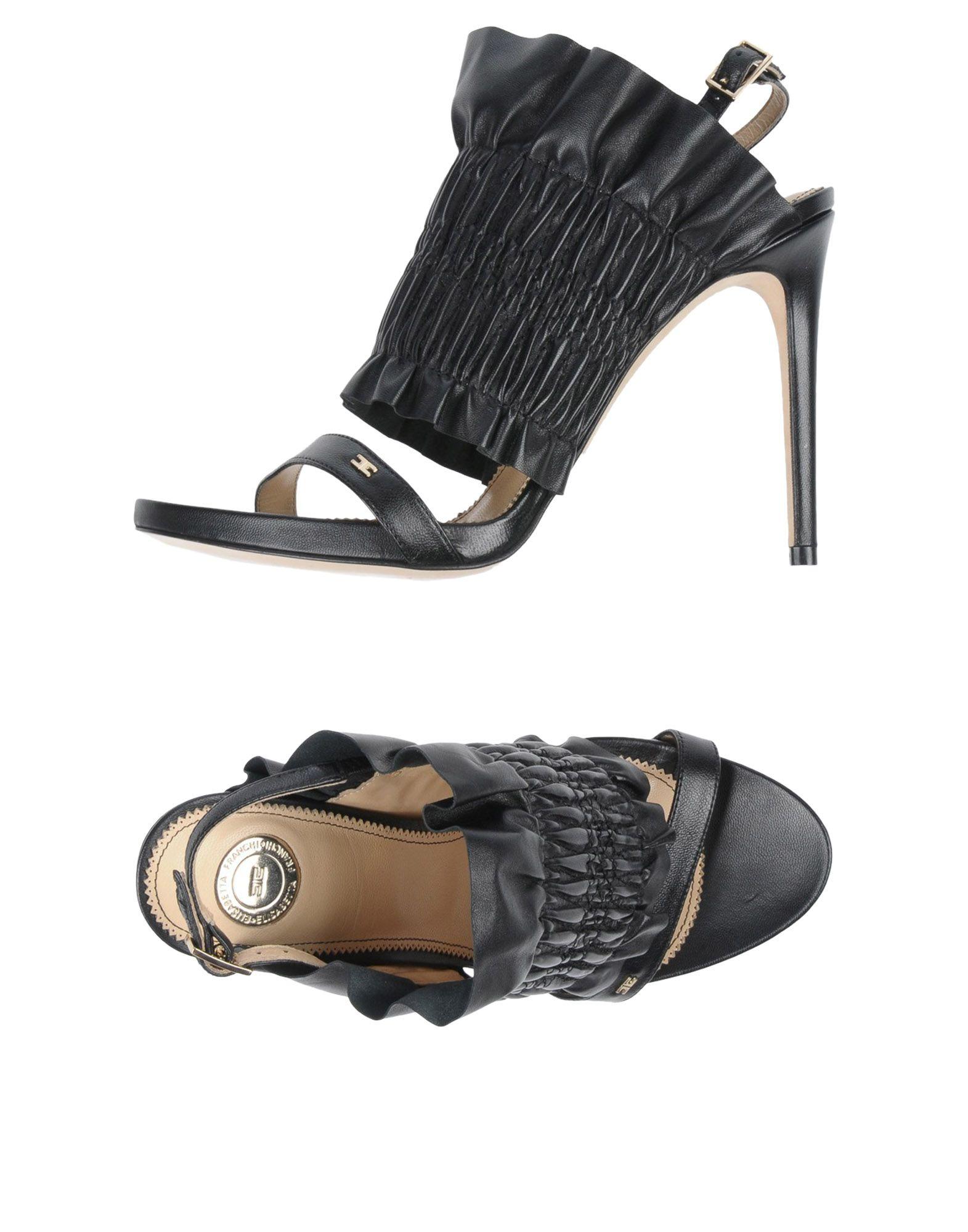 Rabatt Schuhe Elisabetta Franchi Sandalen Damen  11481444XJ