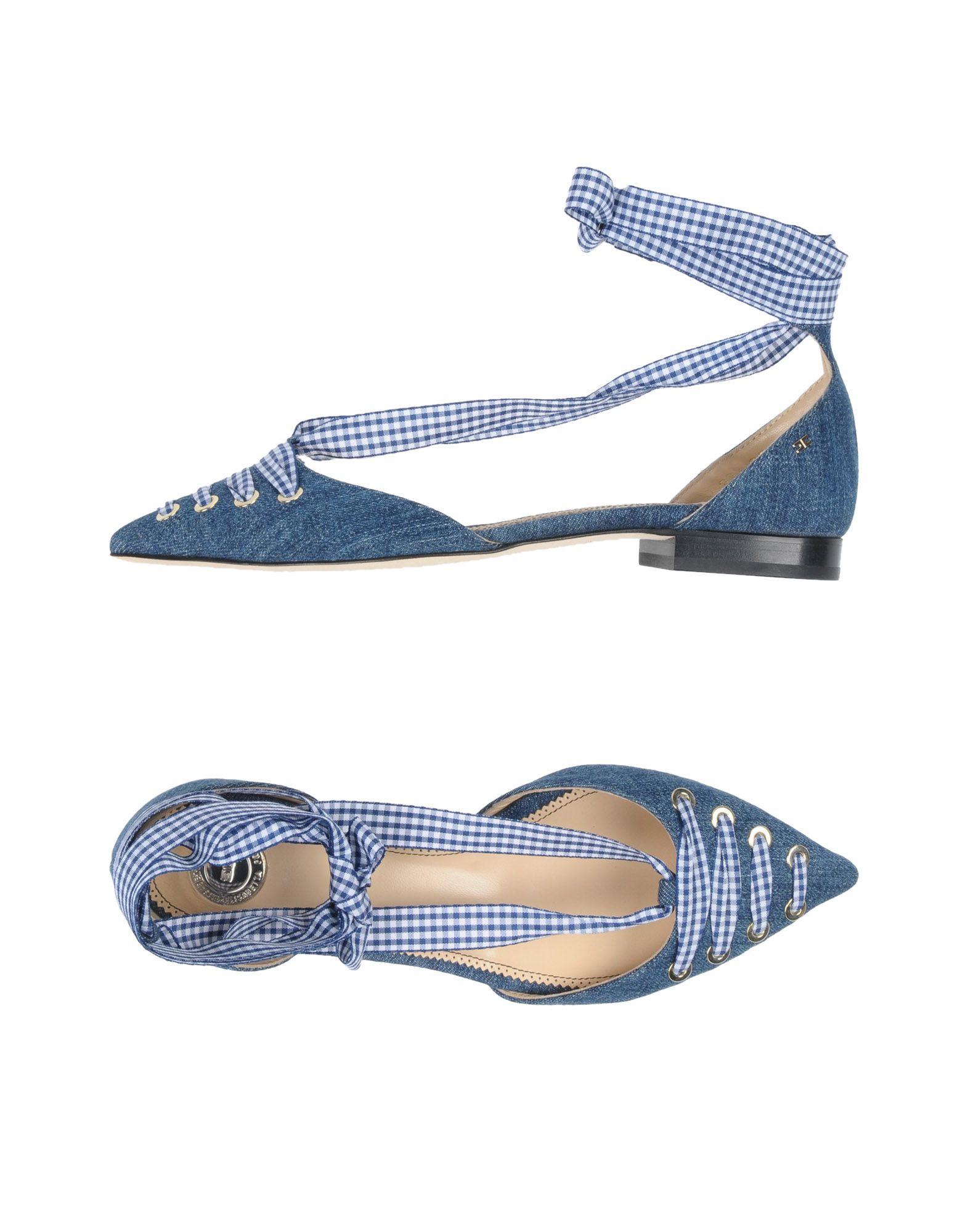 Ballerine Elisabetta Franchi Jeans Donna - 11481462GN
