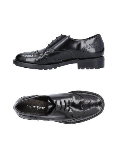 Zapato Cordones De Cordones Carms Mujer - Zapatos De Cordones Zapato Carms - 11481624SQ Negro 9981e7