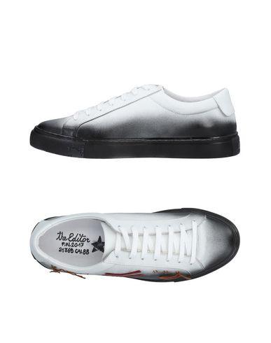 Zapatos de hombres y mujeres de moda casual Zapatillas The Editor Hombre - Zapatillas The Editor   - 11481653AO Negro