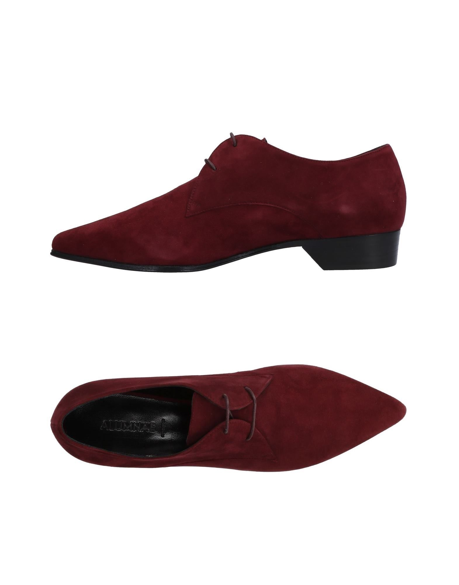 Stilvolle billige Schuhe Alumnae Schnürschuhe Damen  11481875JJ