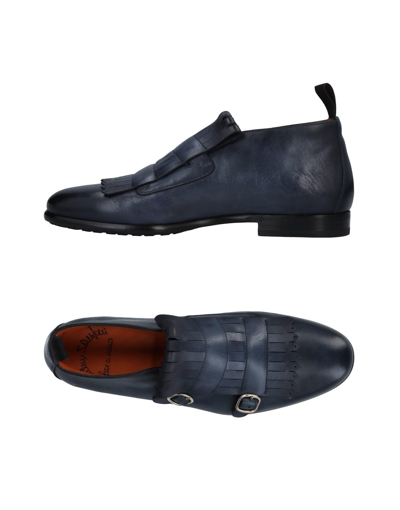 Haltbare Mode billige Schuhe Santoni Mokassins Herren  11482038FP Heiße Schuhe
