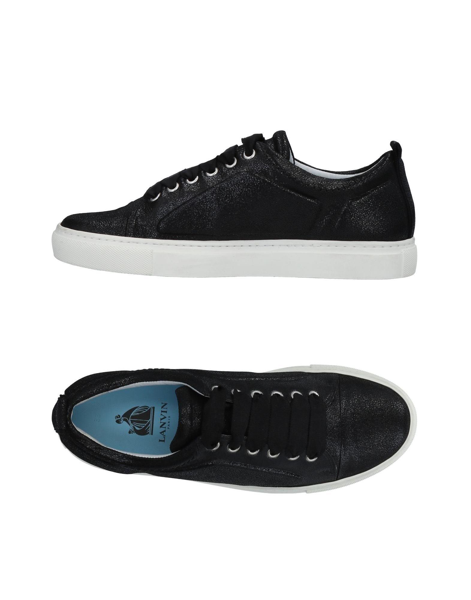 Negro Zapatillas Lanvin Mujer - Zapatillas Lanvin Lanvin Lanvin Nuevos , descuento por tiempo limitado fe226f