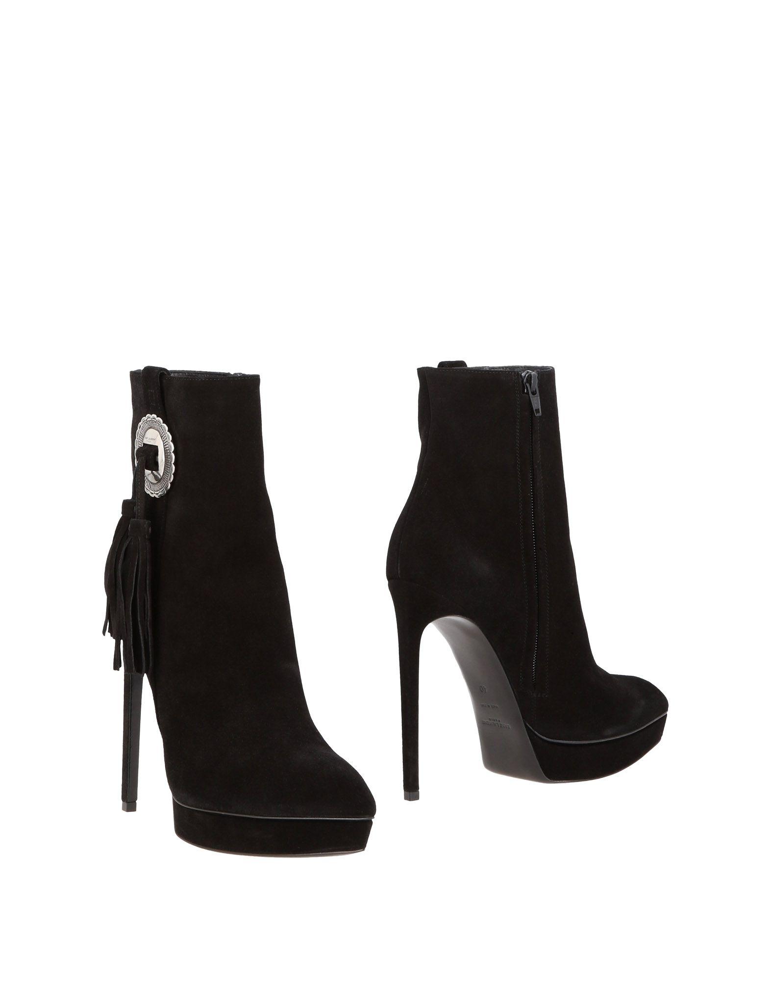 Saint Laurent Stiefelette aussehende Damen  11482322CBGünstige gut aussehende Stiefelette Schuhe 977bc4