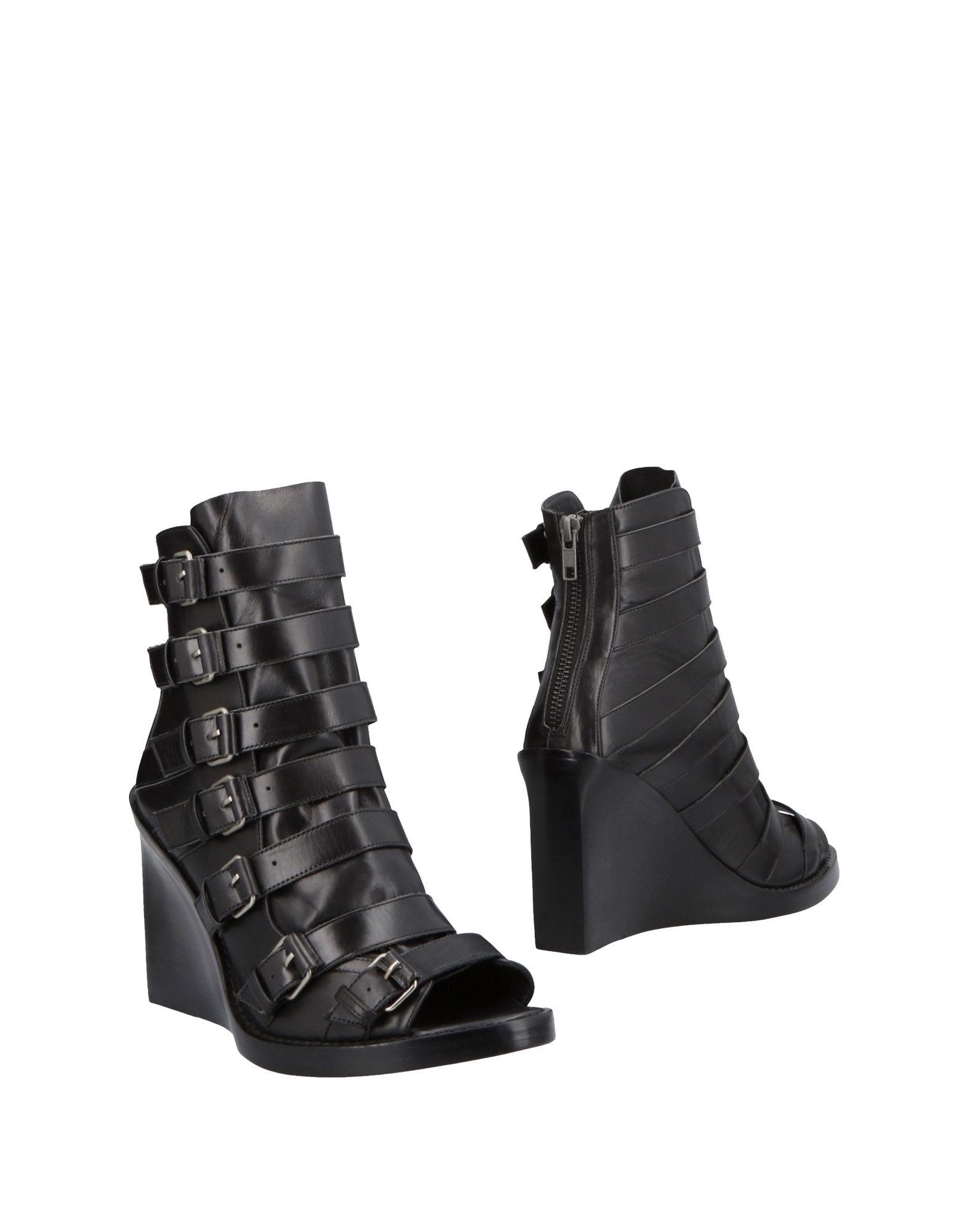 Ann Demeulemeester Stiefelette aussehende Damen  11482558FXGünstige gut aussehende Stiefelette Schuhe 7120f8
