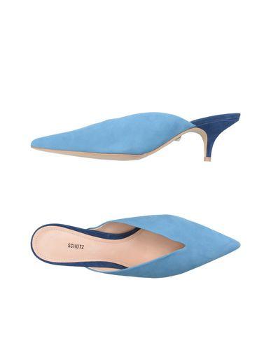 first rate 68717 0a72b Zuecos Schutz Mujer - Zuecos Schutz - 11482680DS Azul celeste