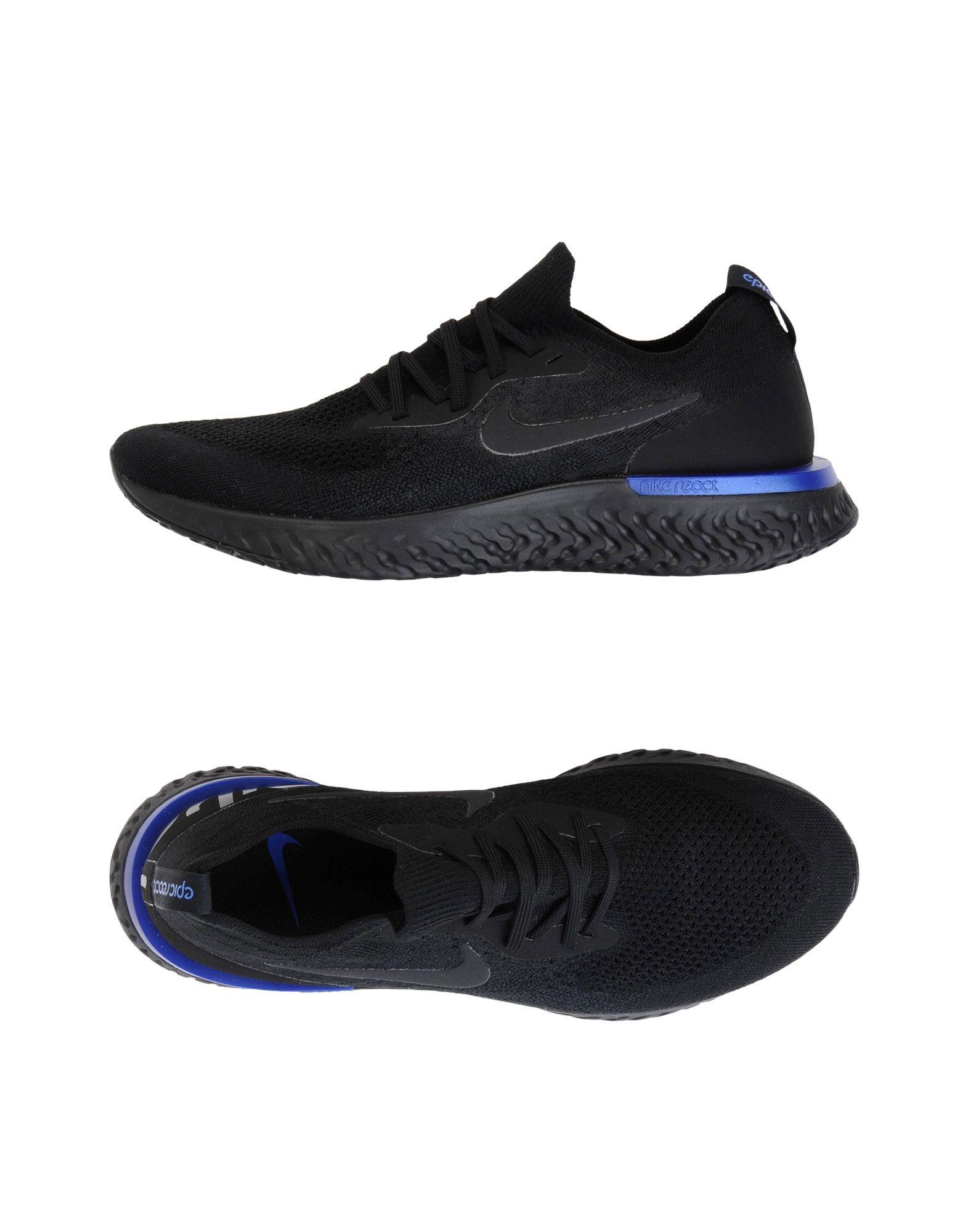 Sneakers Nike  Epic React Flyknit - Homme - Sneakers Nike  Noir Spécial temps limité