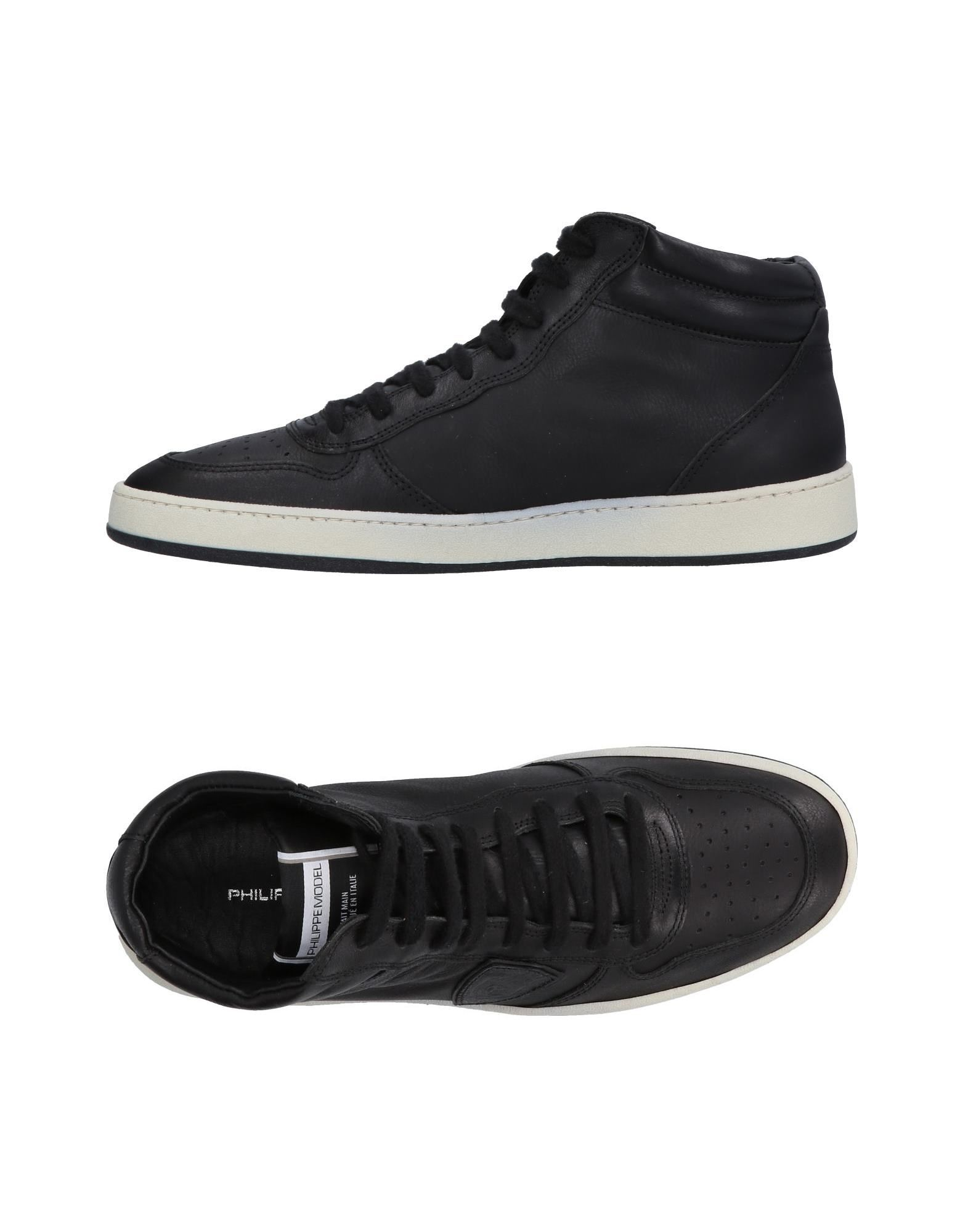 Sneakers Philippe Model Homme - Sneakers Philippe Model  Blanc Chaussures femme pas cher homme et femme