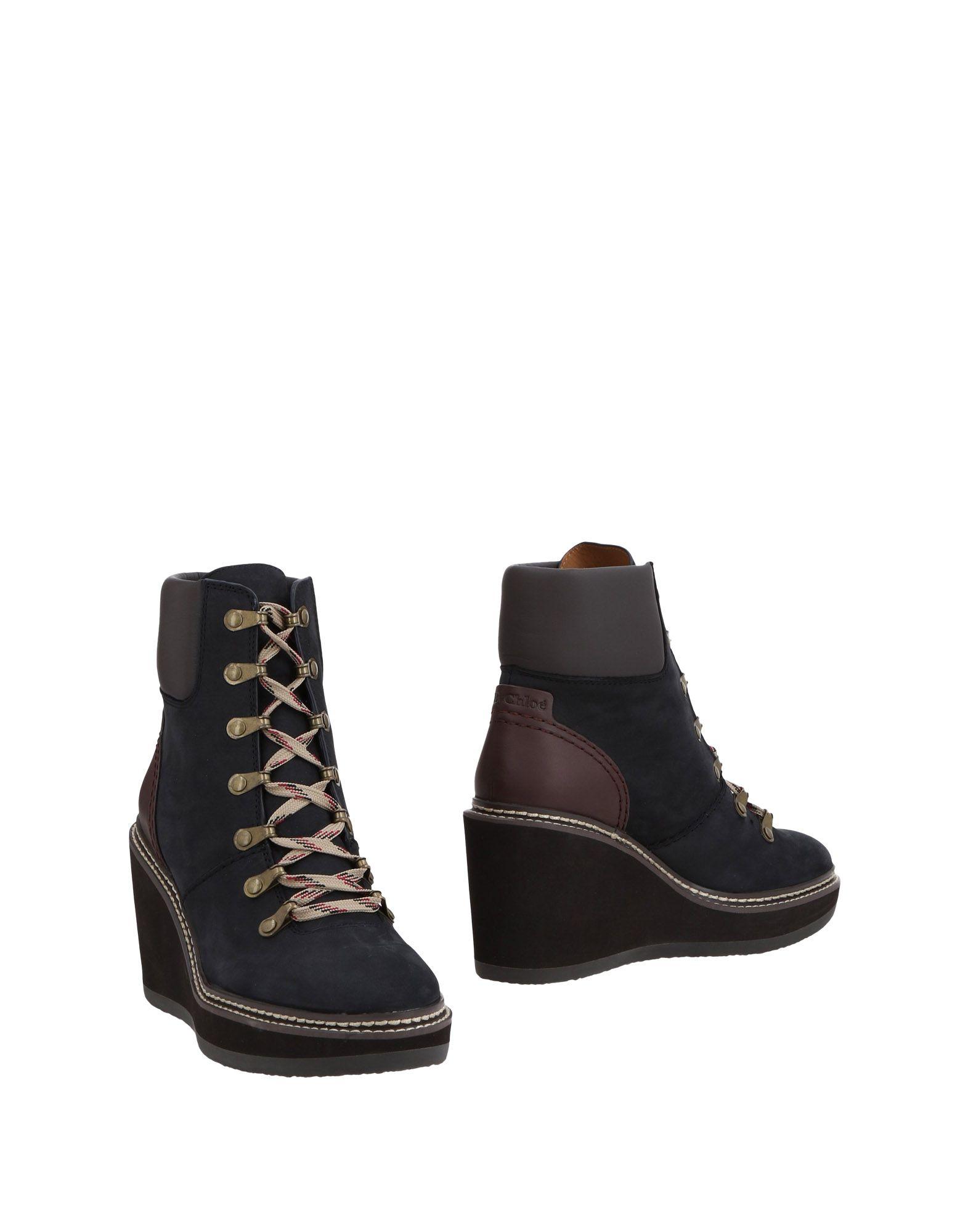 Rabatt Schuhe See By Chloé Stiefelette Damen  11483467CG