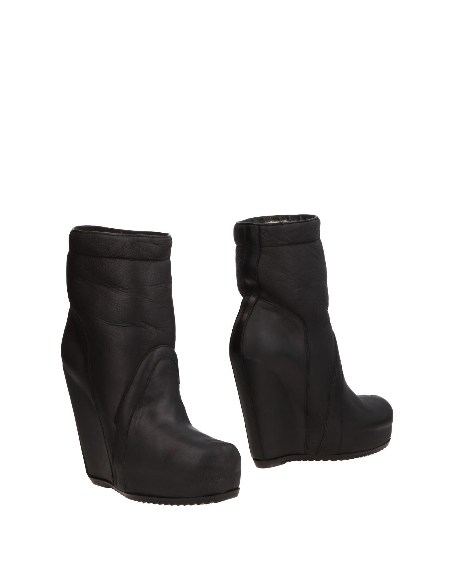 Rick Owens aussehende Stiefelette Damen 11483470LMGünstige gut aussehende Owens Schuhe 46ec24