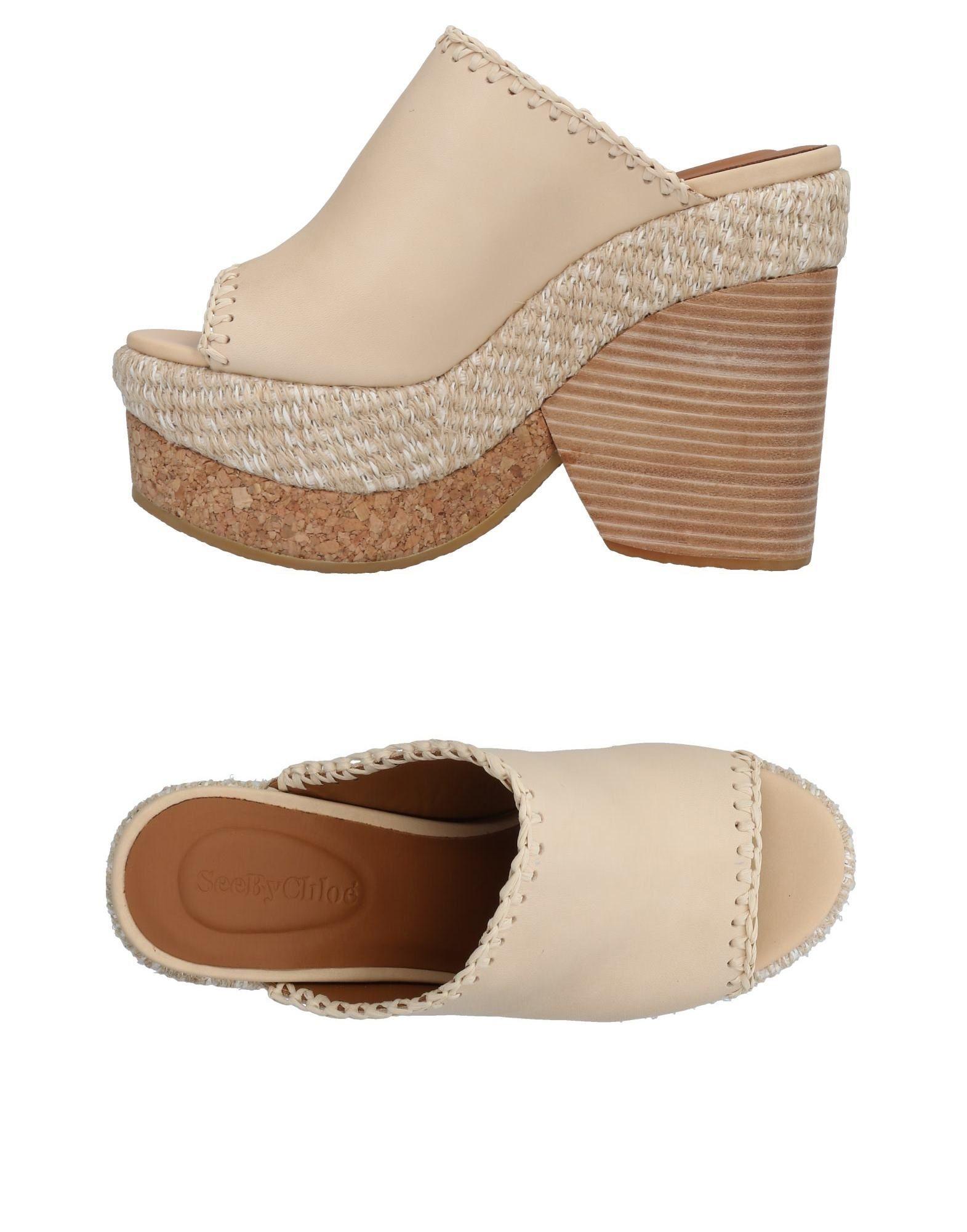 See  By Chloé Sandalen Damen  See 11483501ROGut aussehende strapazierfähige Schuhe 7fed52