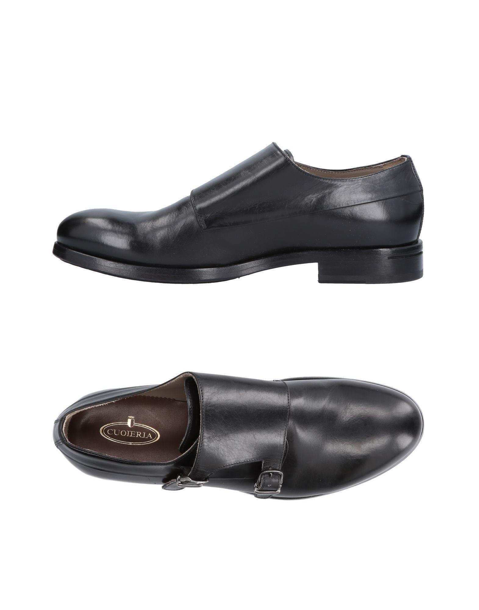 Rabatt echte Schuhe Cuoieria Mokassins Herren  11483765CV
