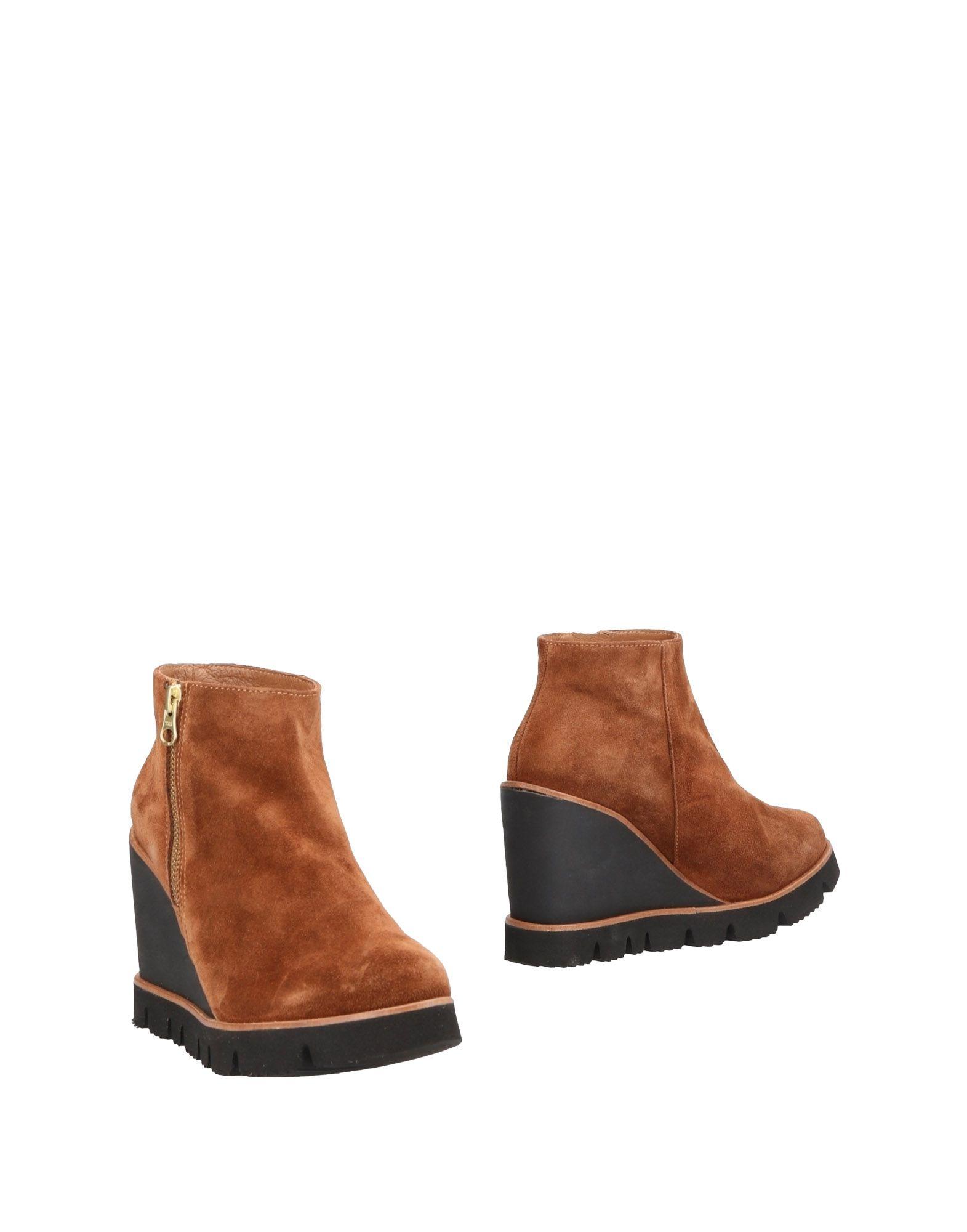 Gut um billige Schuhe zu tragenEspadrilles Stiefelette Damen  11483957LU
