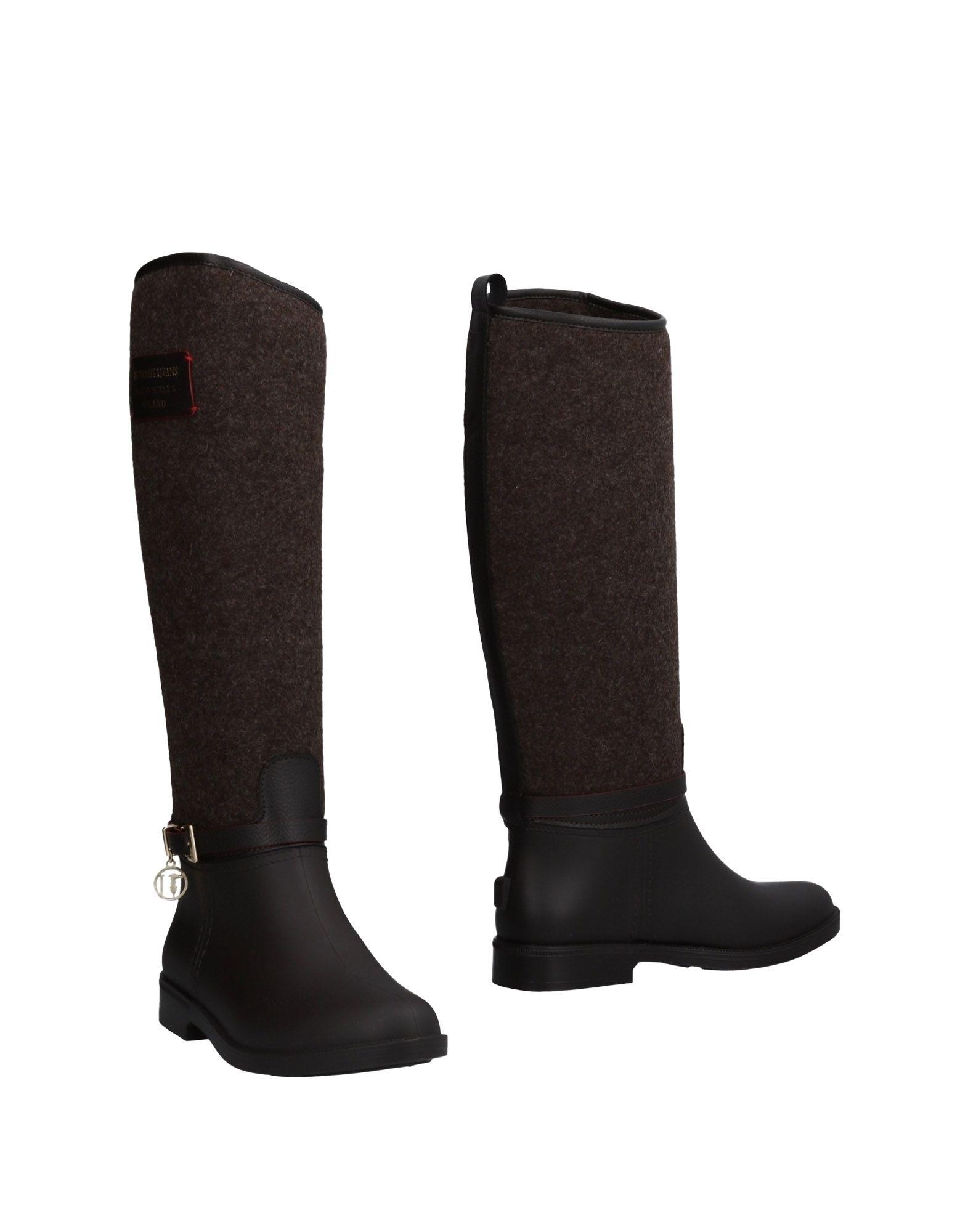 Gut Jeans um billige Schuhe zu tragenTrussardi Jeans Gut Stiefel Damen  11484132WM b1d891